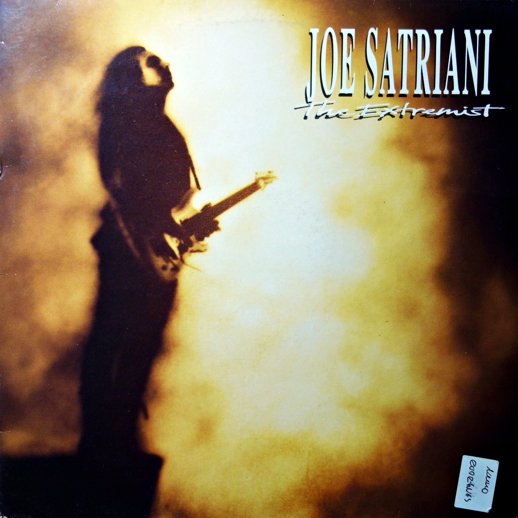 LP Joe Satriani ‎– The Extremist