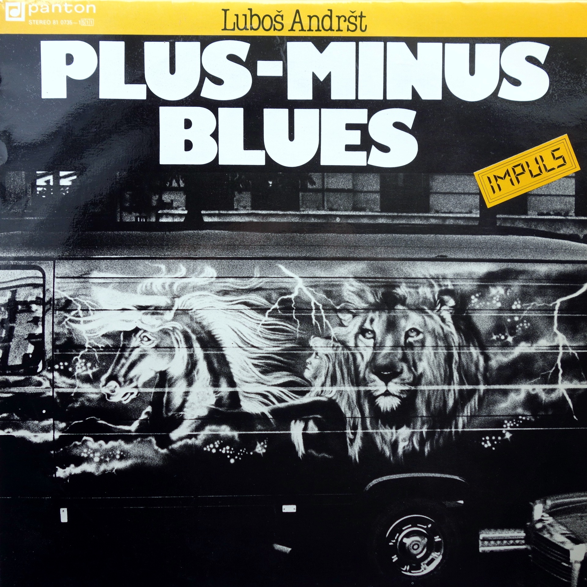 LP Luboš Andršt ‎– Plus-minus Blues