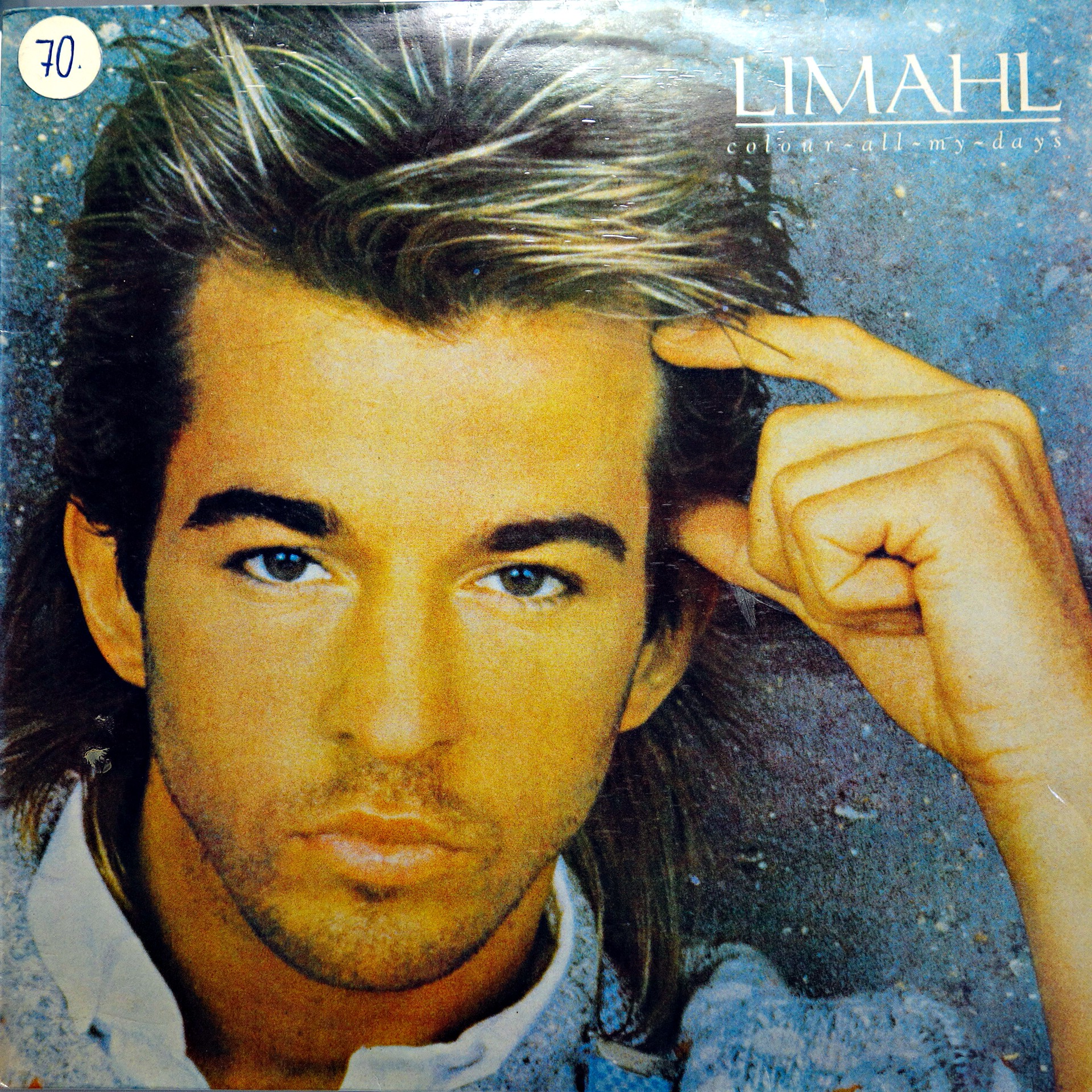 LP Limahl ‎– Colour All My Days