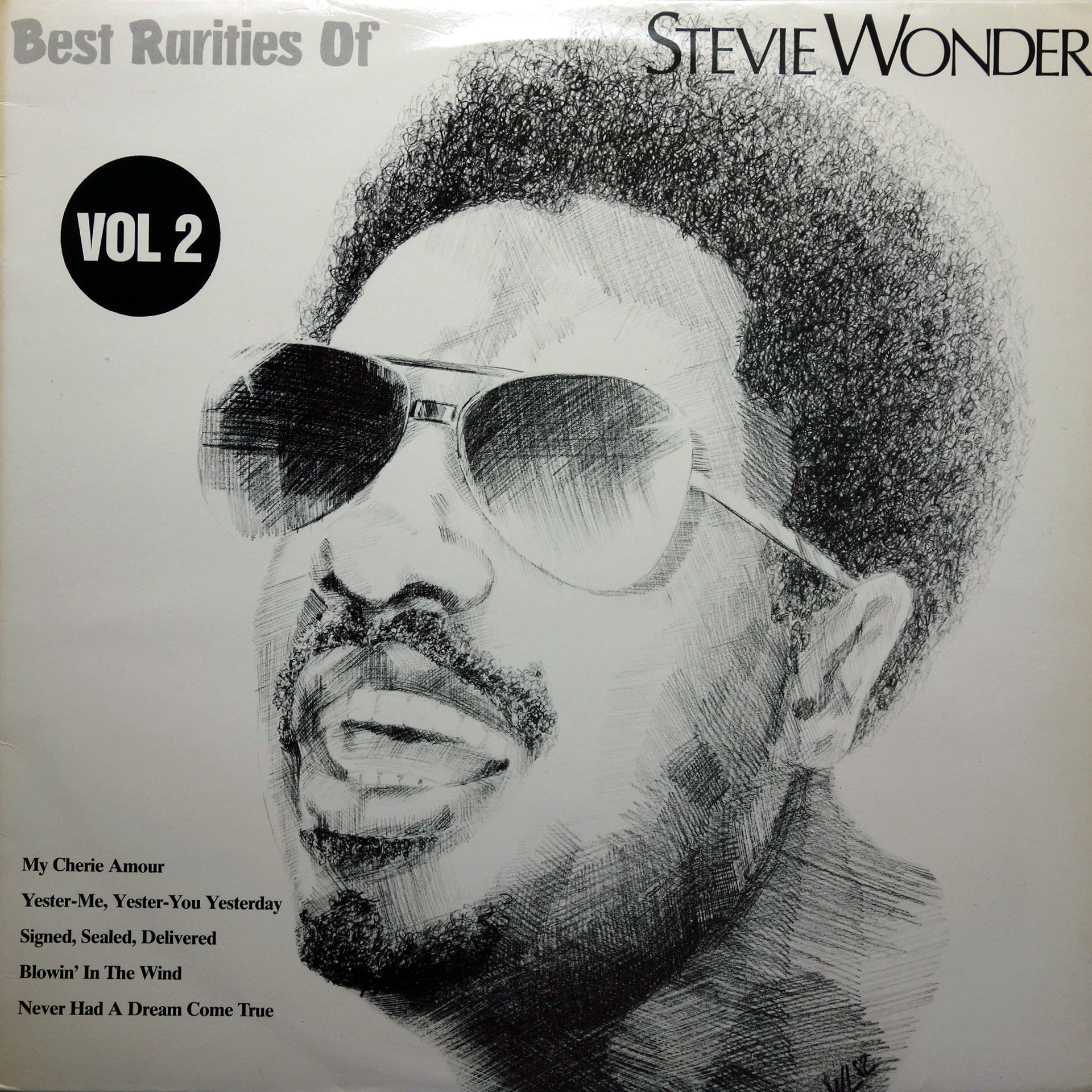 LP Stevie Wonder ‎– Best Rarities Of Stevie Wonder Vol 2