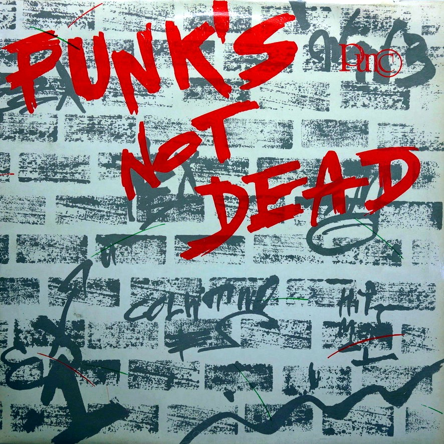 LP Various ‎– Punk's Not Dead