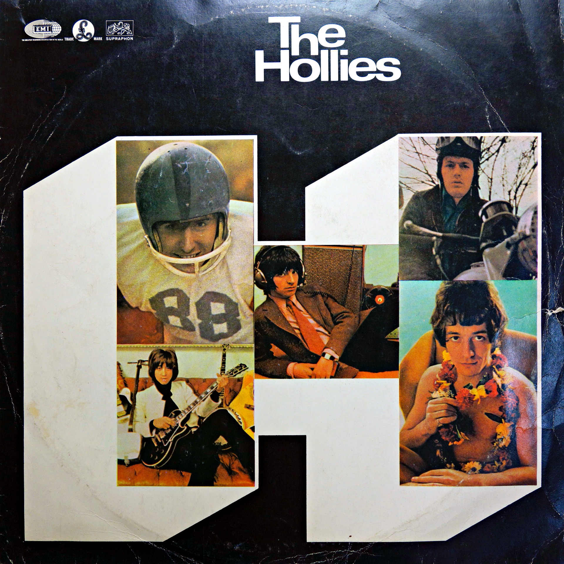 LP The Hollies ‎– The Hollies