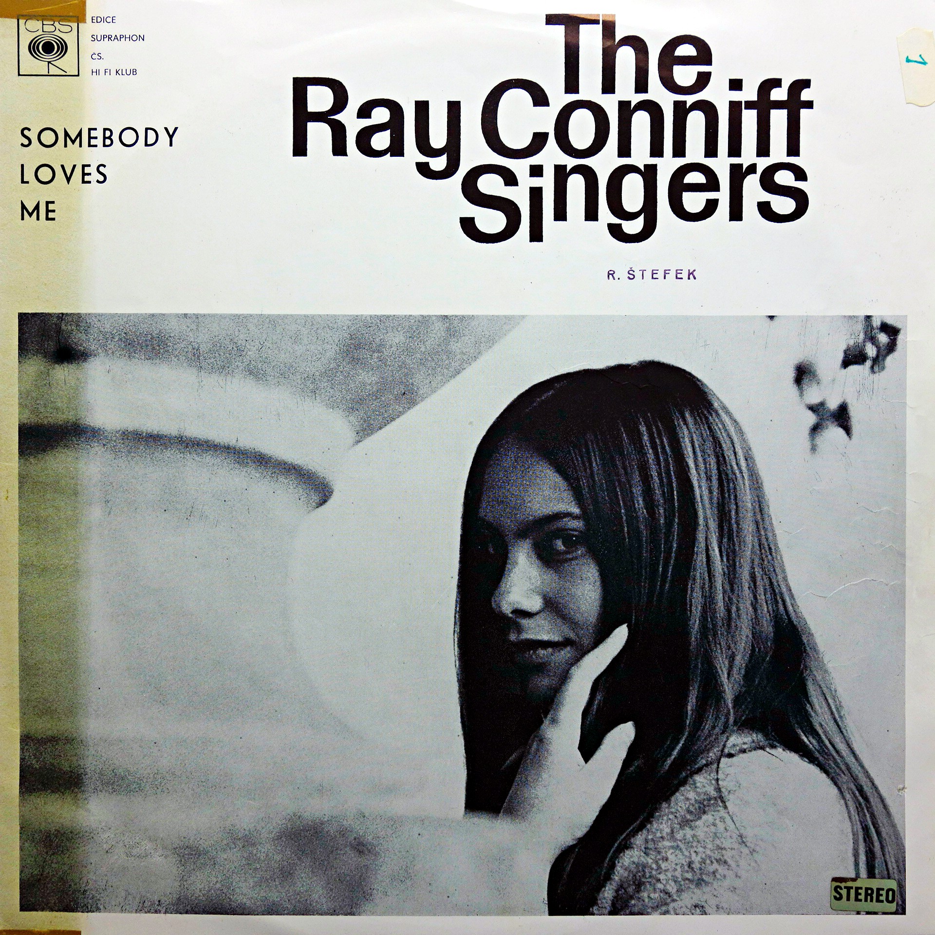 LP Ray Conniff Singers ‎– Somebody Loves Me