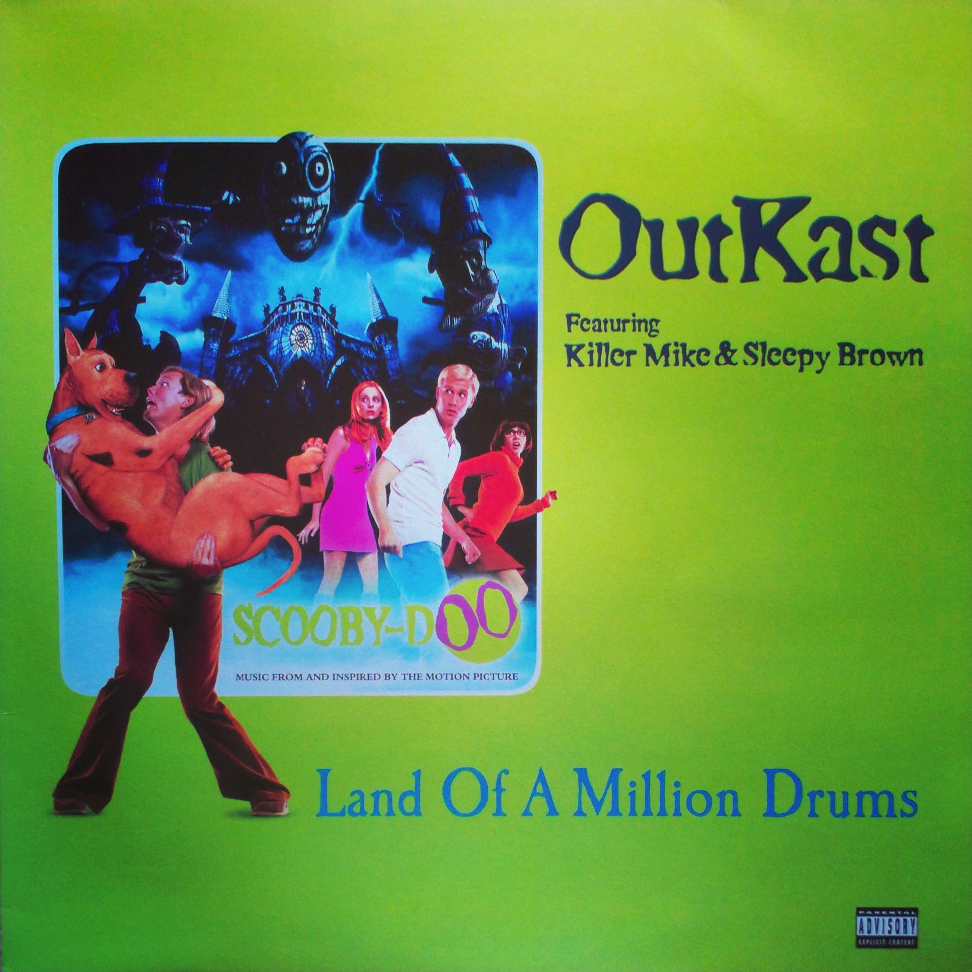 "12"" OutKast Feat.Killer Mike & Sleepy Brown - Land Of A Million Drums"