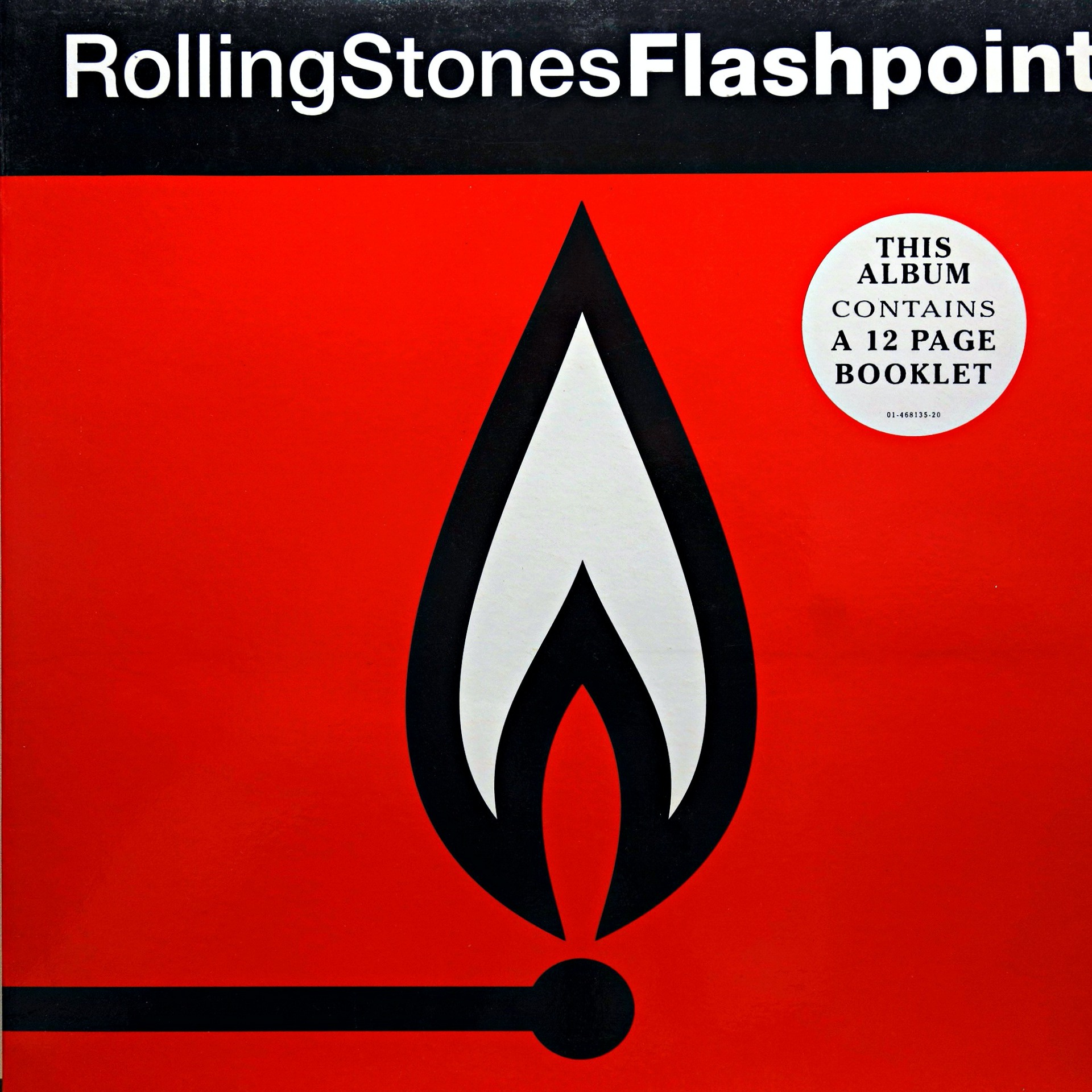 LP The Rolling Stones ‎– Flashpoint