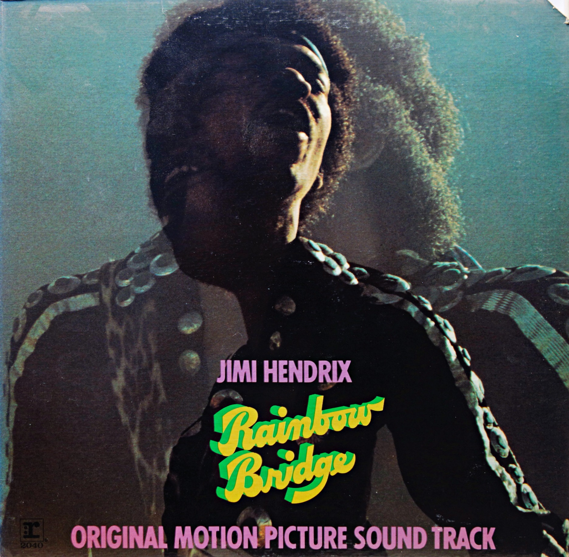 LP Jimi Hendrix ‎– Rainbow Bridge / Original Motion Picture Sound Track