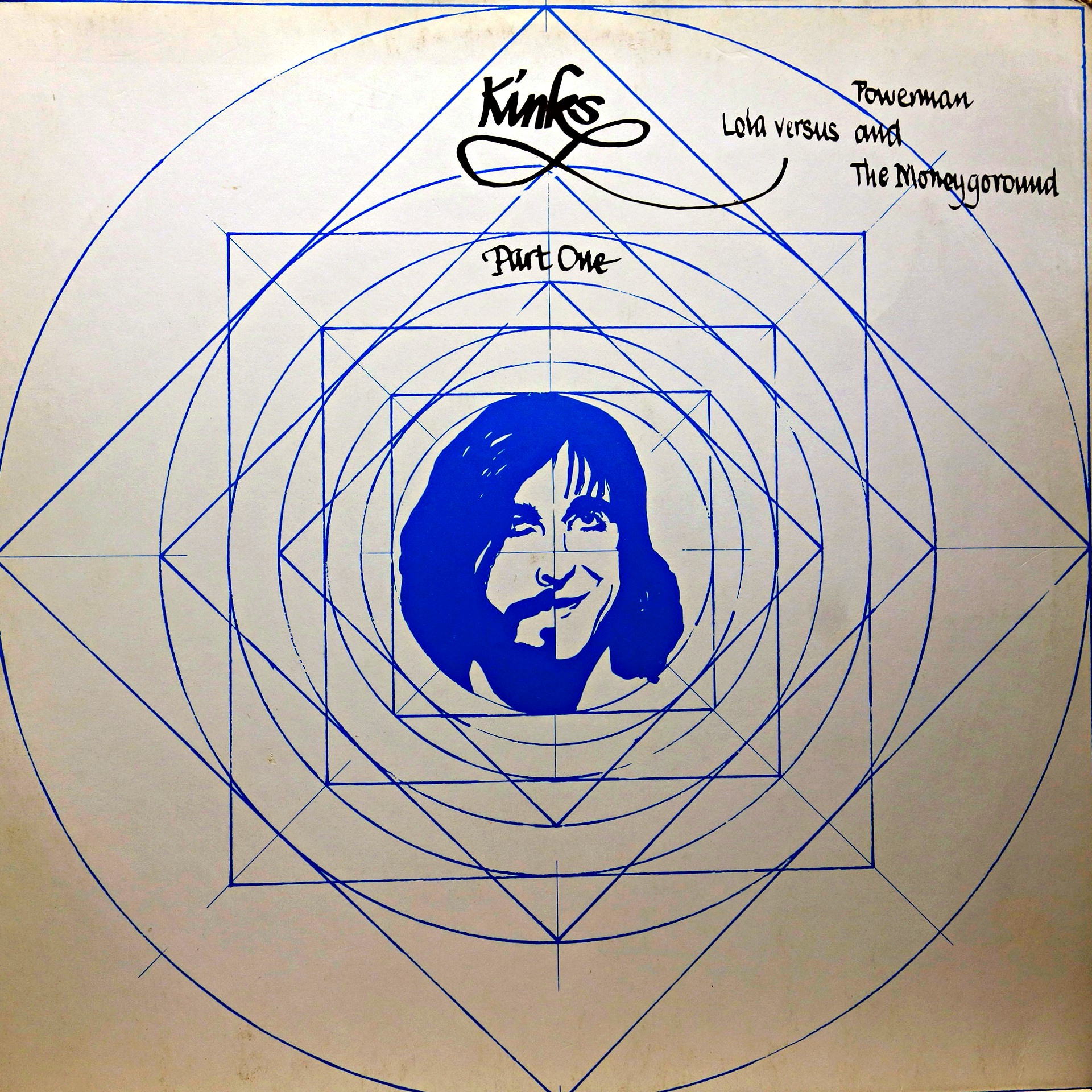 LP The Kinks ‎– Lola Versus Powerman And The Moneygoround Part One