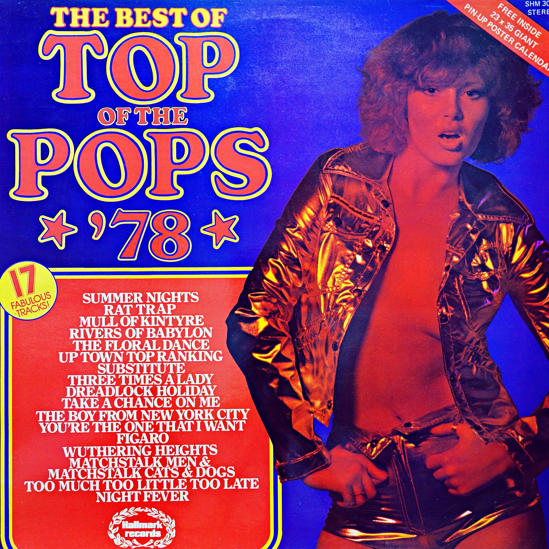 LP The Top Of The Poppers ‎– The Best Of Top Of The Pops *'78*
