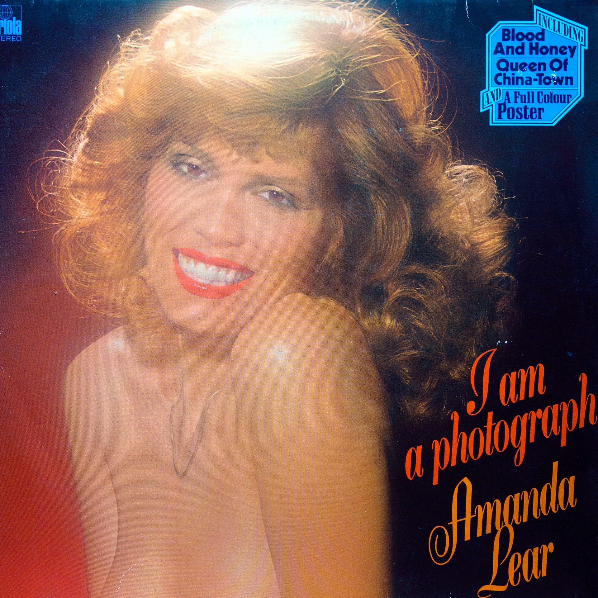 LP Amanda Lear ‎– I Am A Photograph