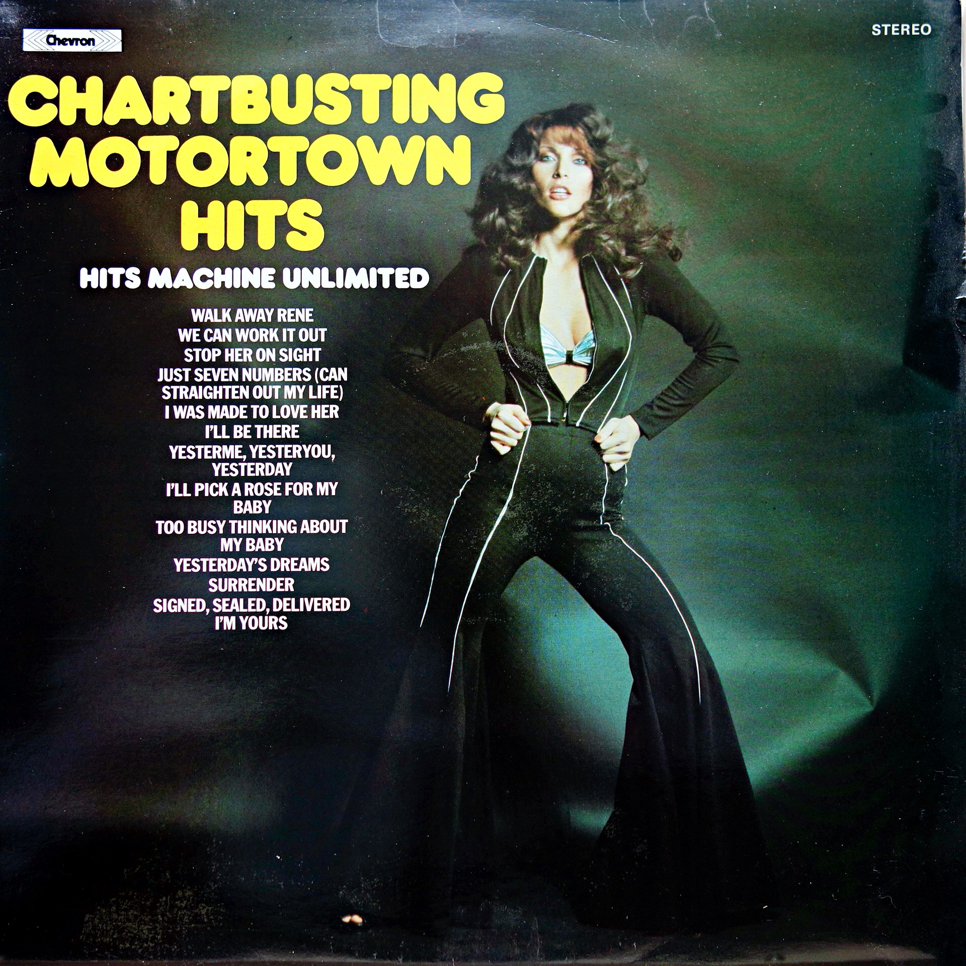 LP Hits Machine Unlimited ‎– Chartbusting Motortown Hits
