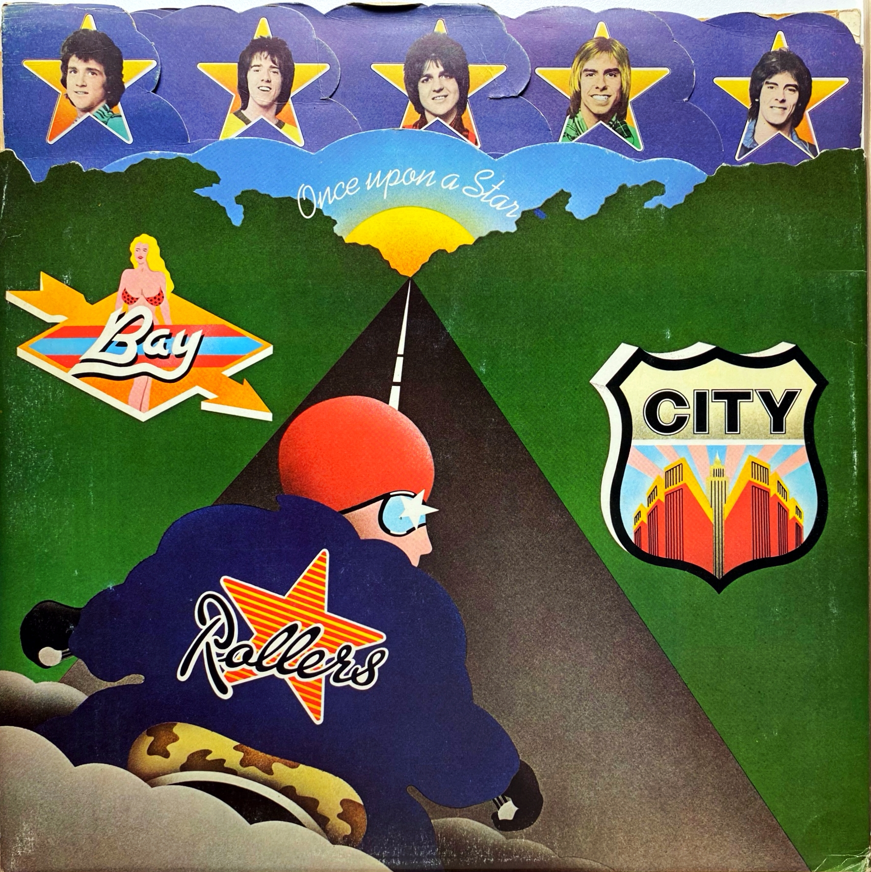 LP Bay City Rollers ‎– Once Upon A Star