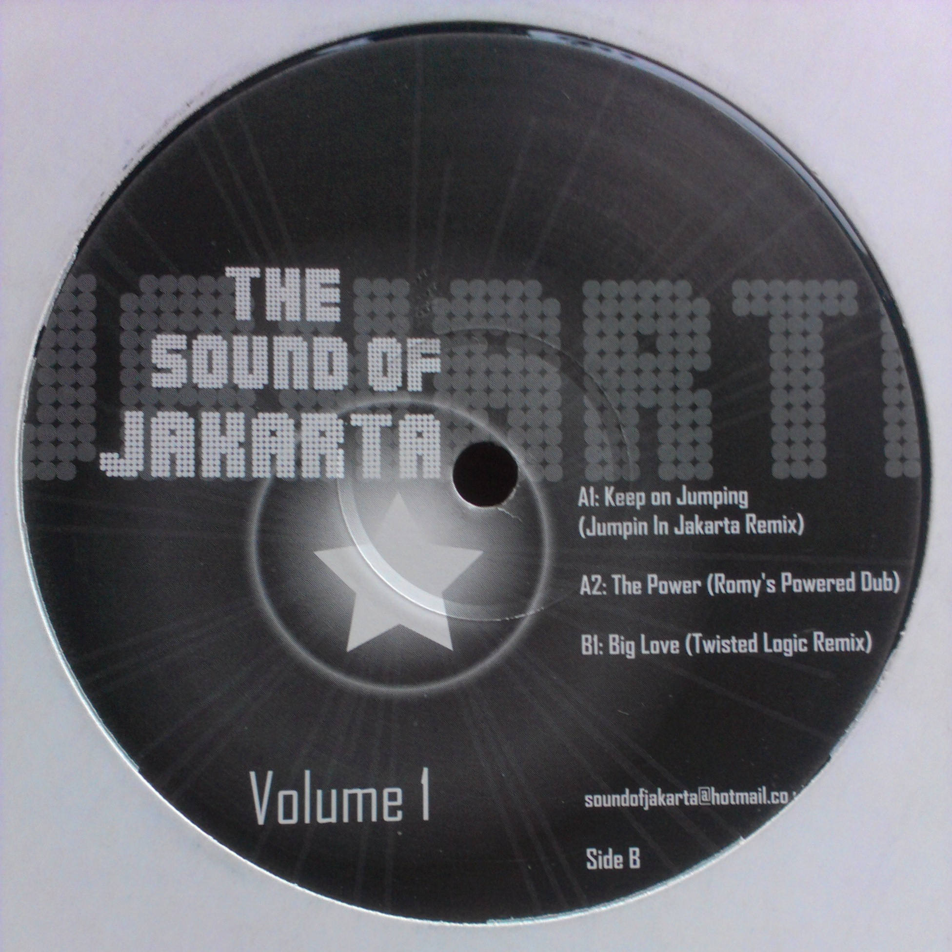 "12"" The Sound Of Jakarta - The Sound Of Jakarta Vol.1"