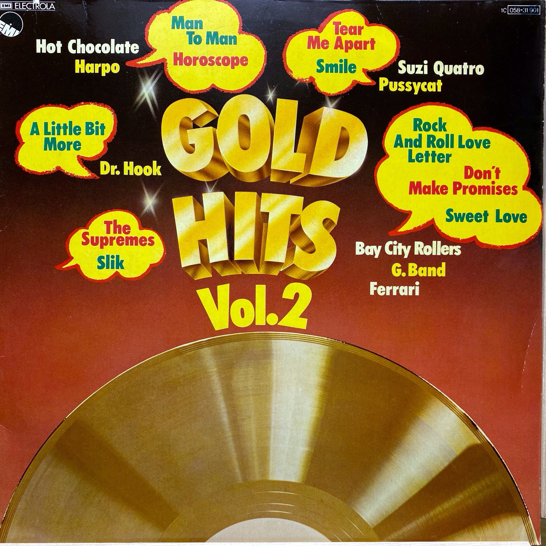 LP Various ‎– Gold Hits Vol.2