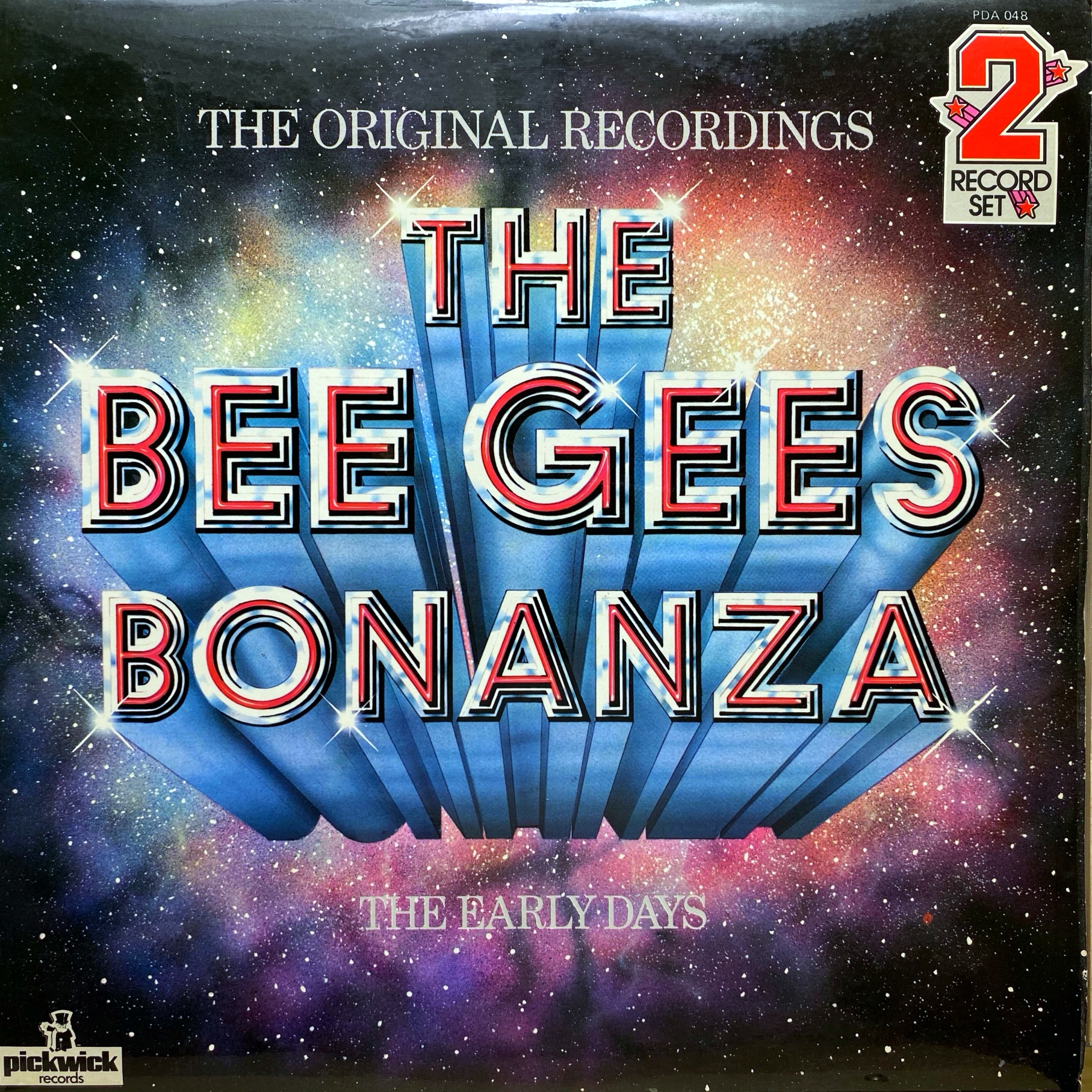 2xLP Bee Gees ‎– The Bee Gees Bonanza - The Early Days