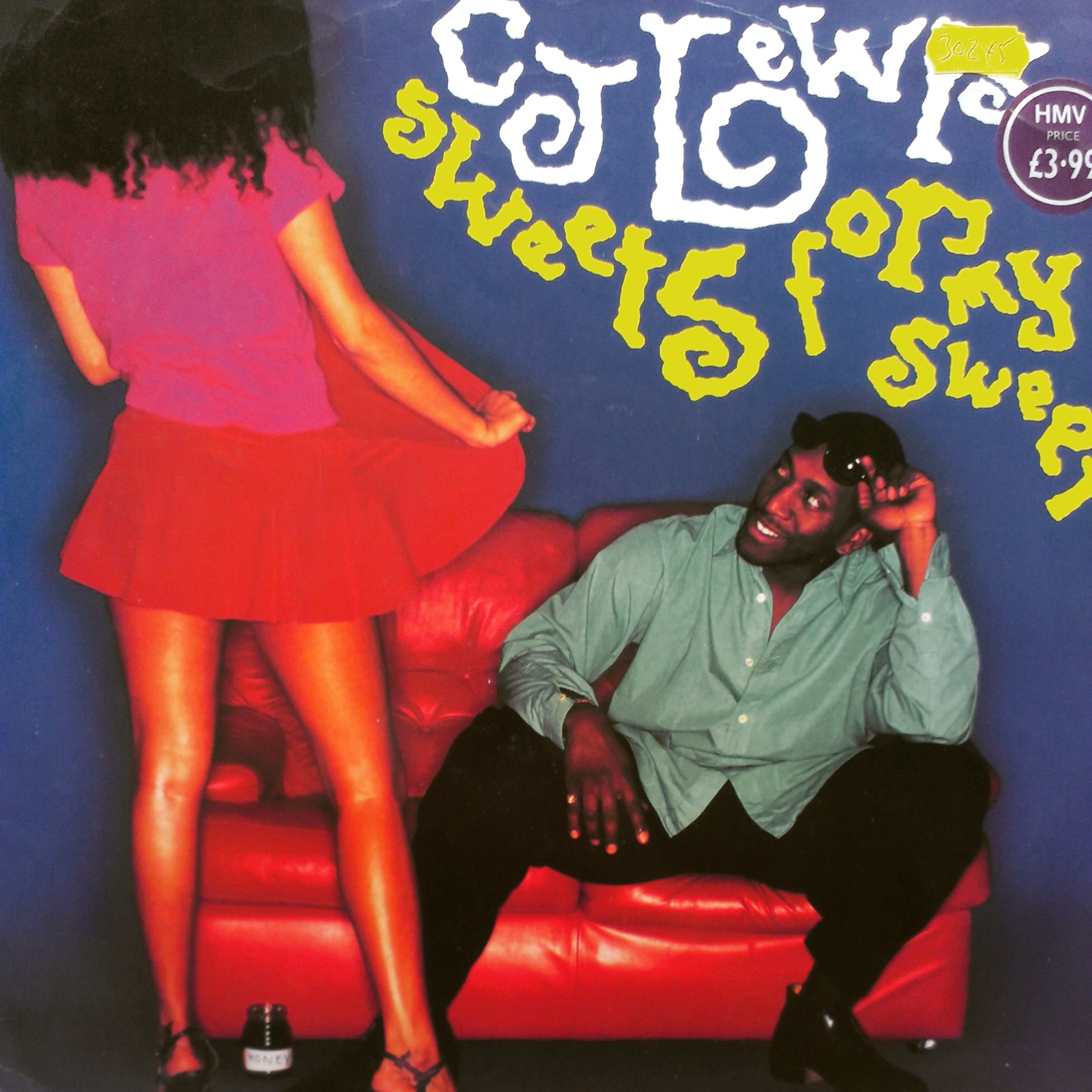 "12"" CJ Lewis - Sweets For My Sweet"