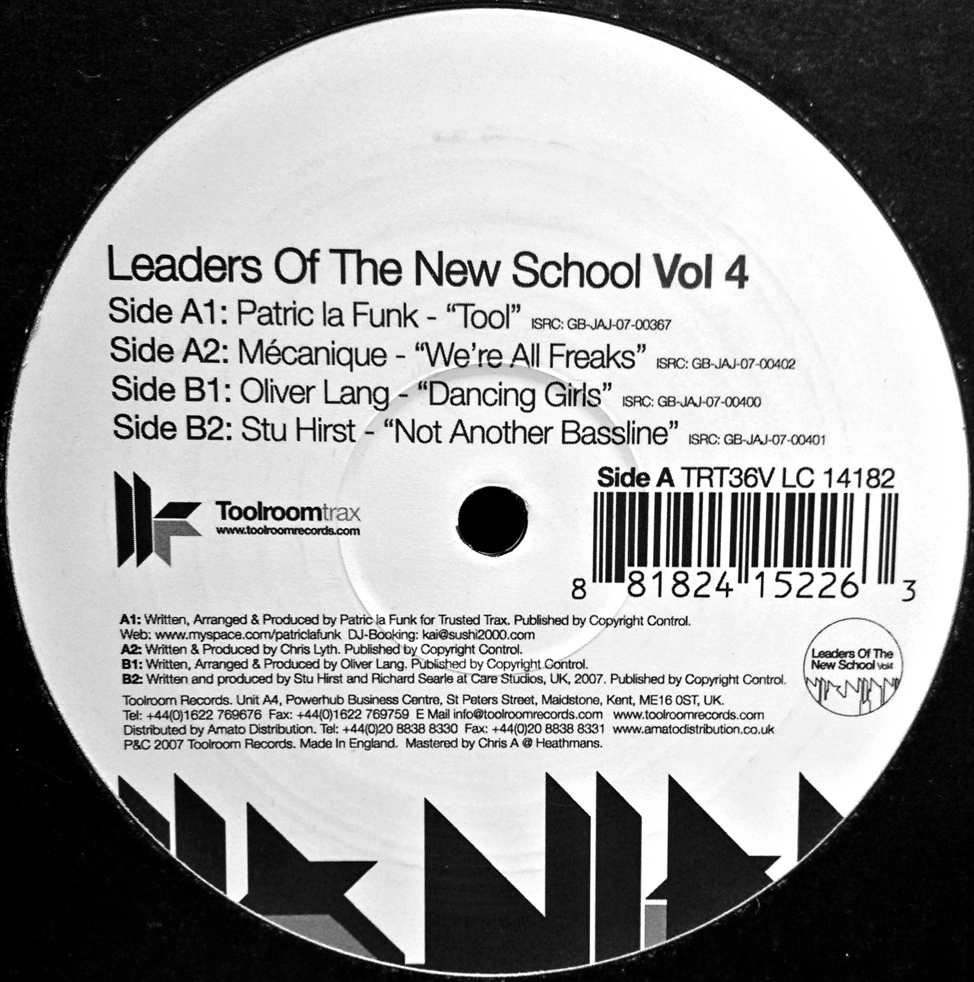"12"" Various - Leaders Of The New School Vol.4"