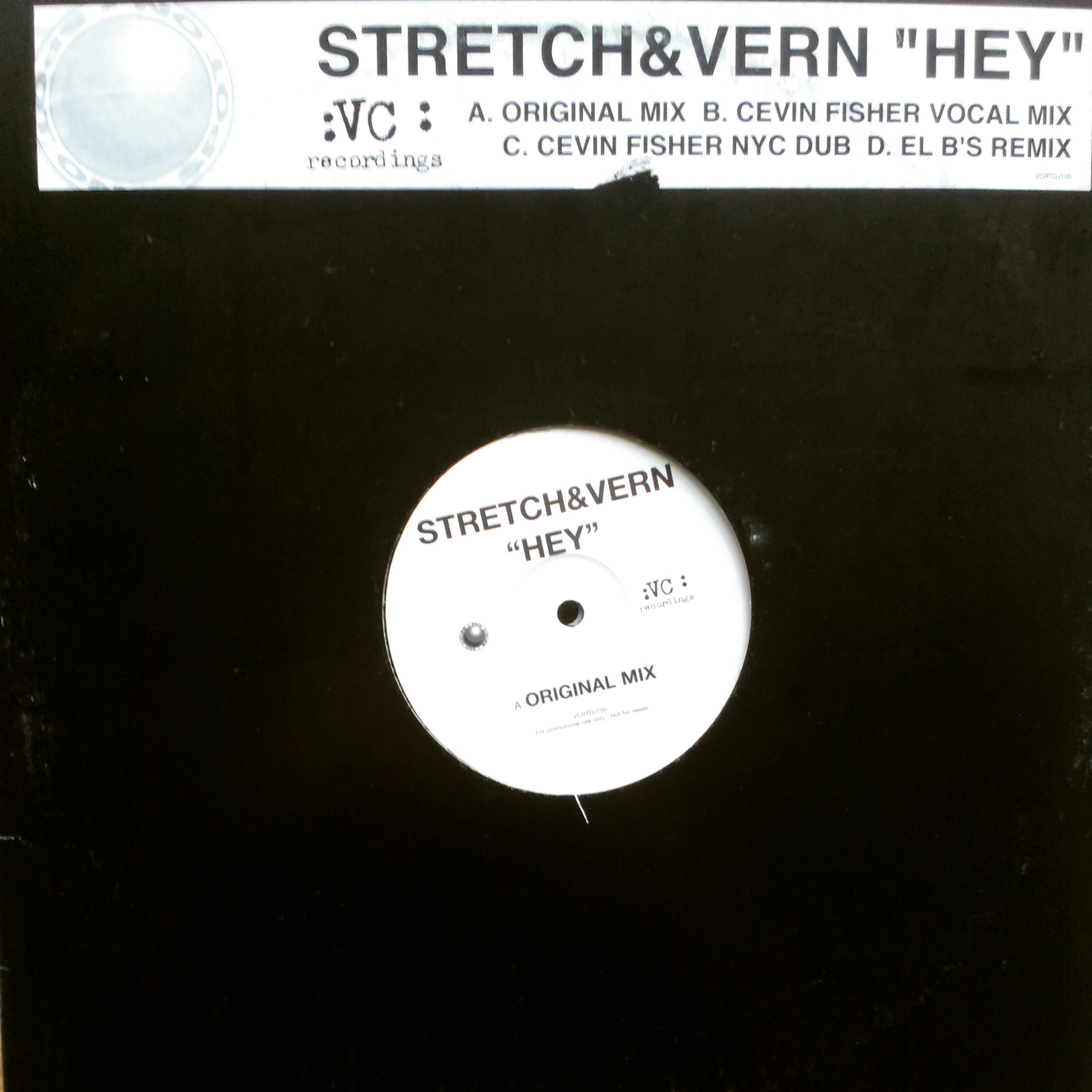 "2x12"" Stretch & Vern - Hey"