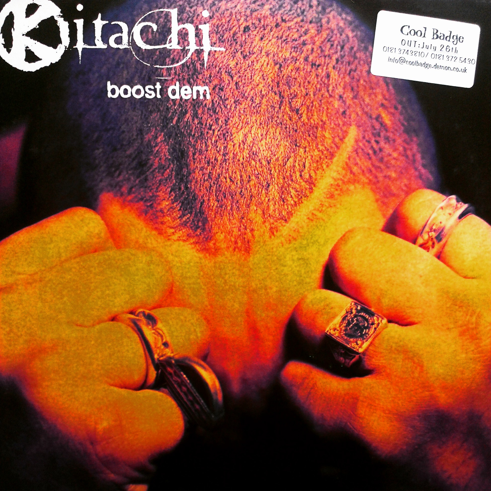 "12"" Kitachi - Boost Dem"