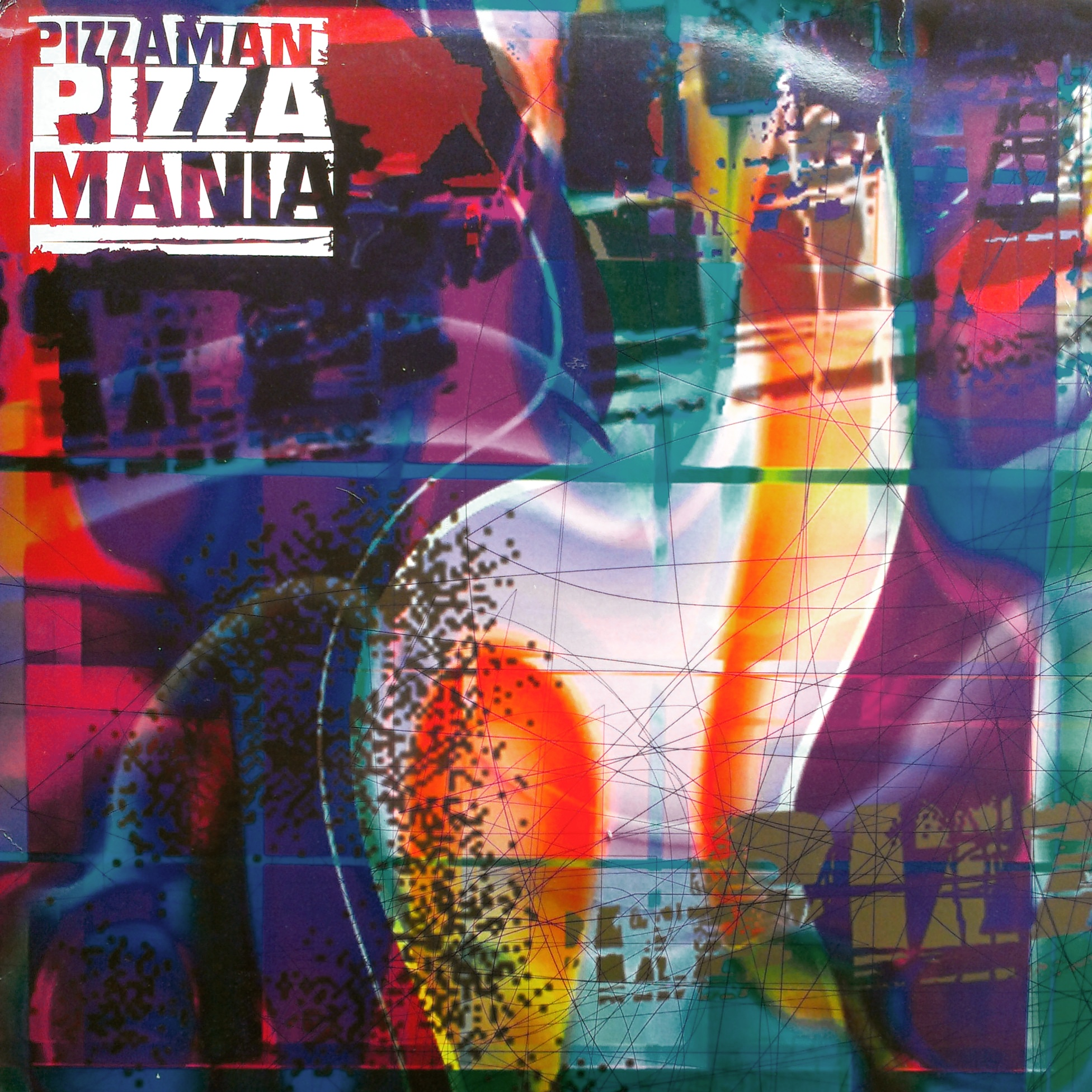 House Techno Trance 2xlp Pizzaman Pizzamania