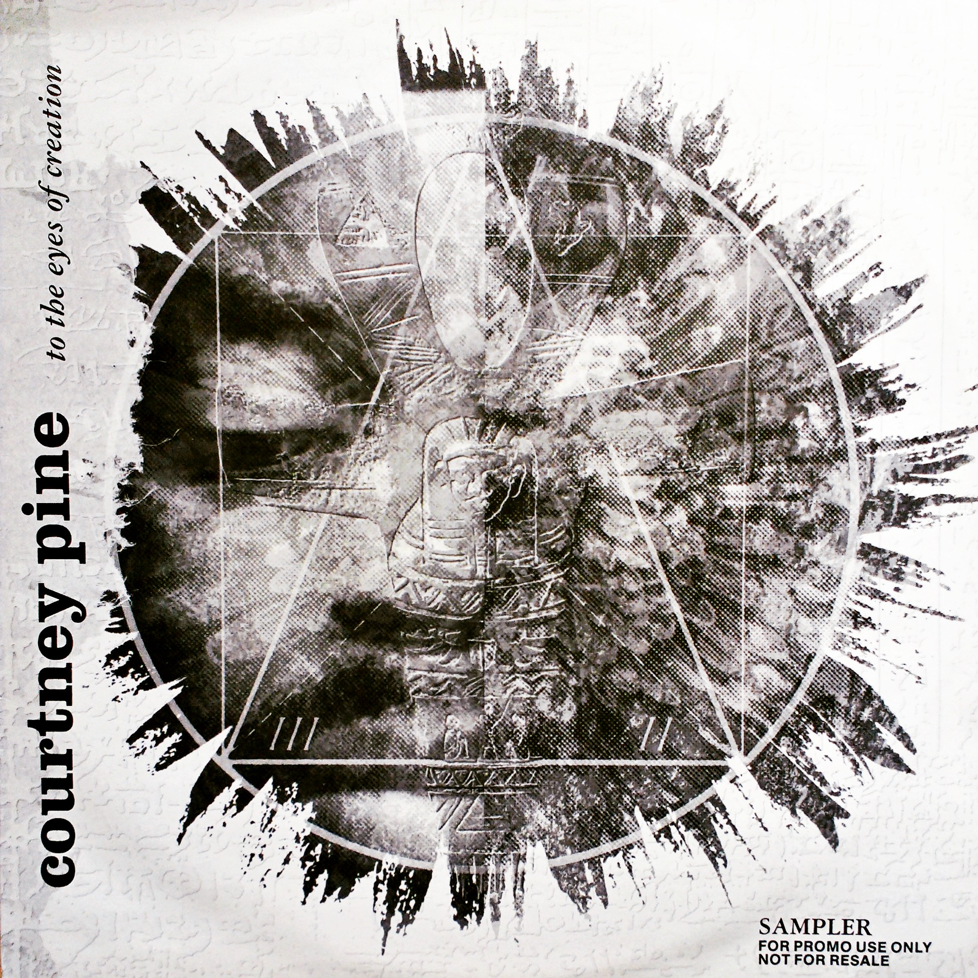 "12"" Courtney Pine - To The Eyes Of Creation"