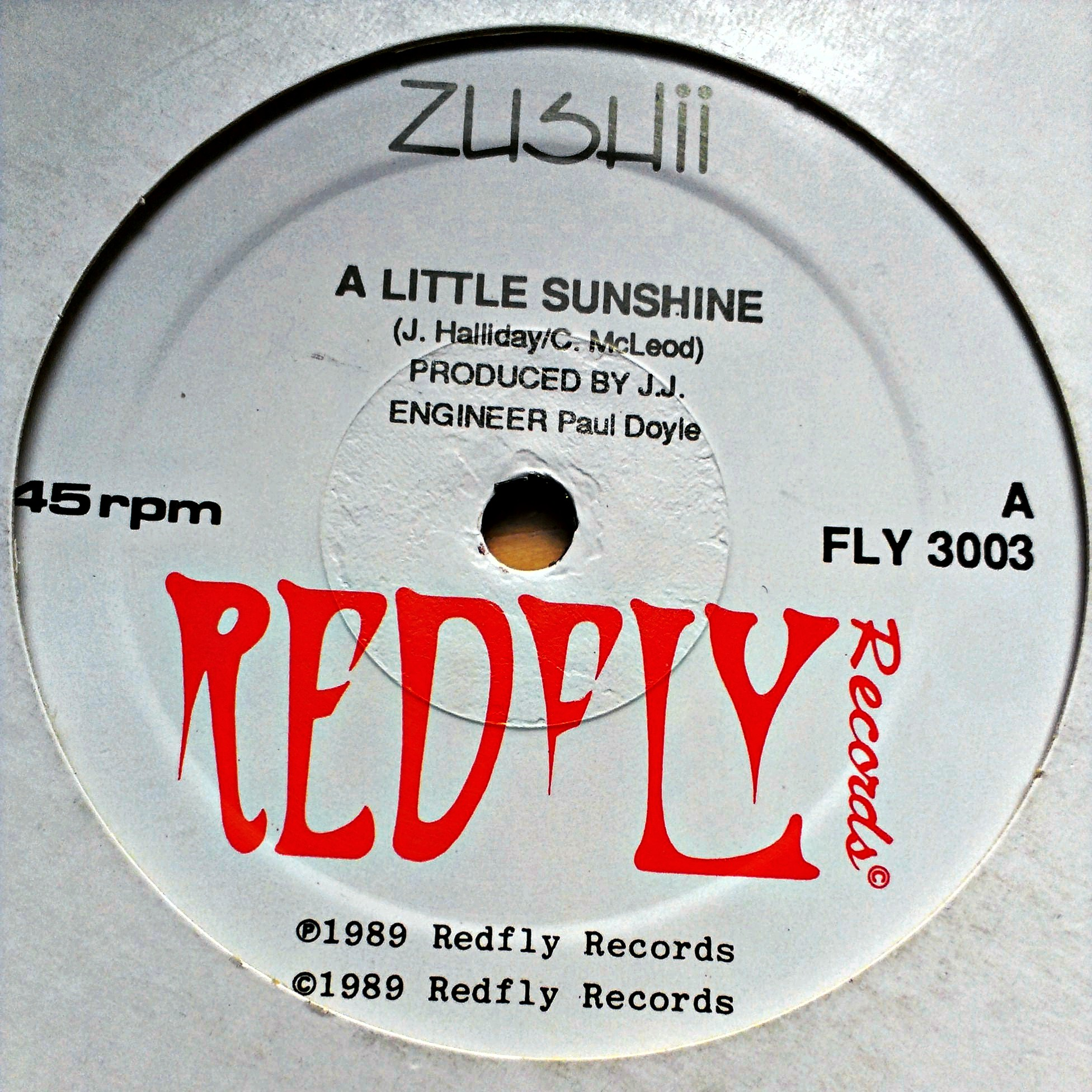 "12"" ZUSHii - A Little Sunshine"