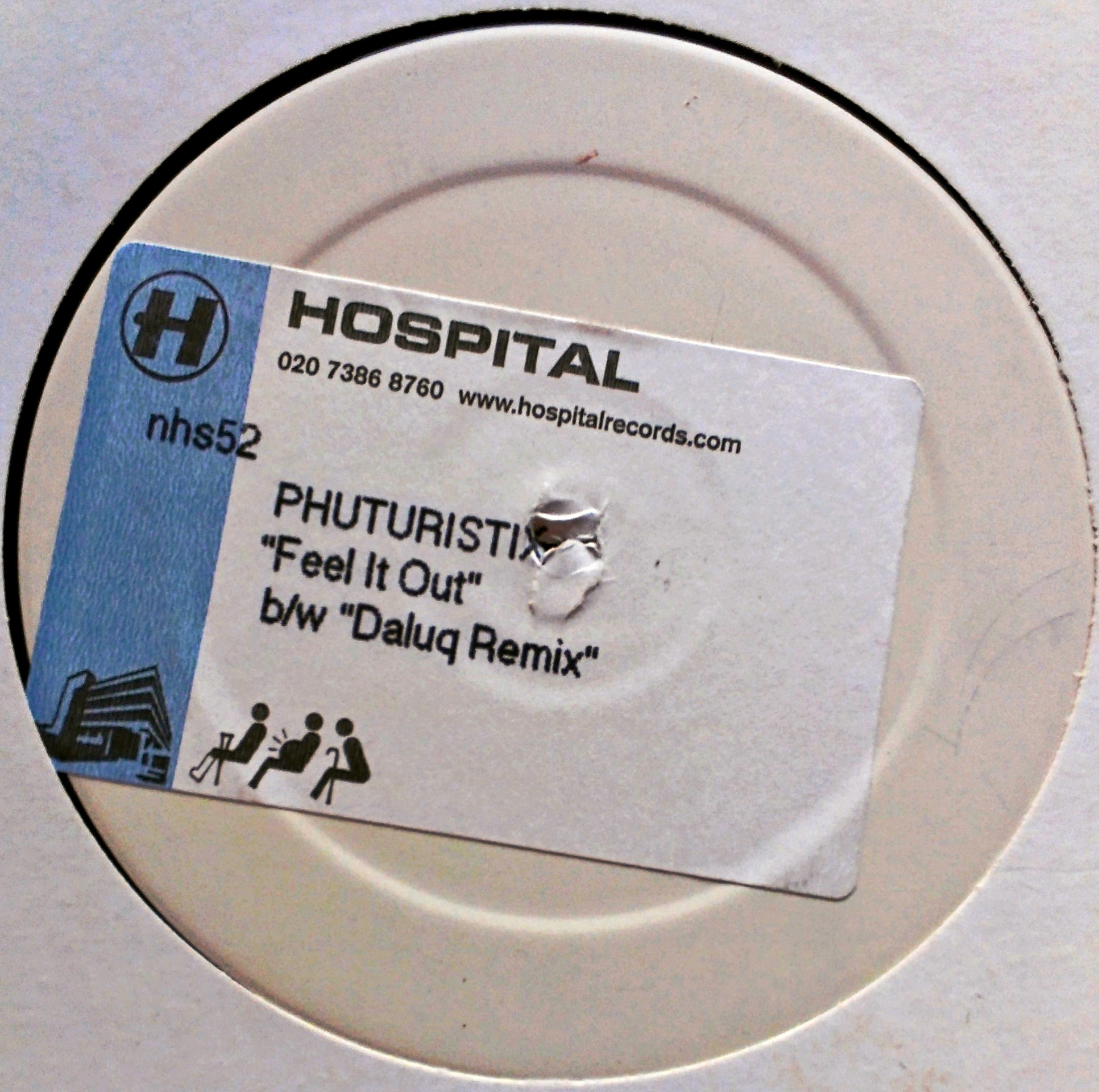 "12"" Phuturistix - Feel It Out"