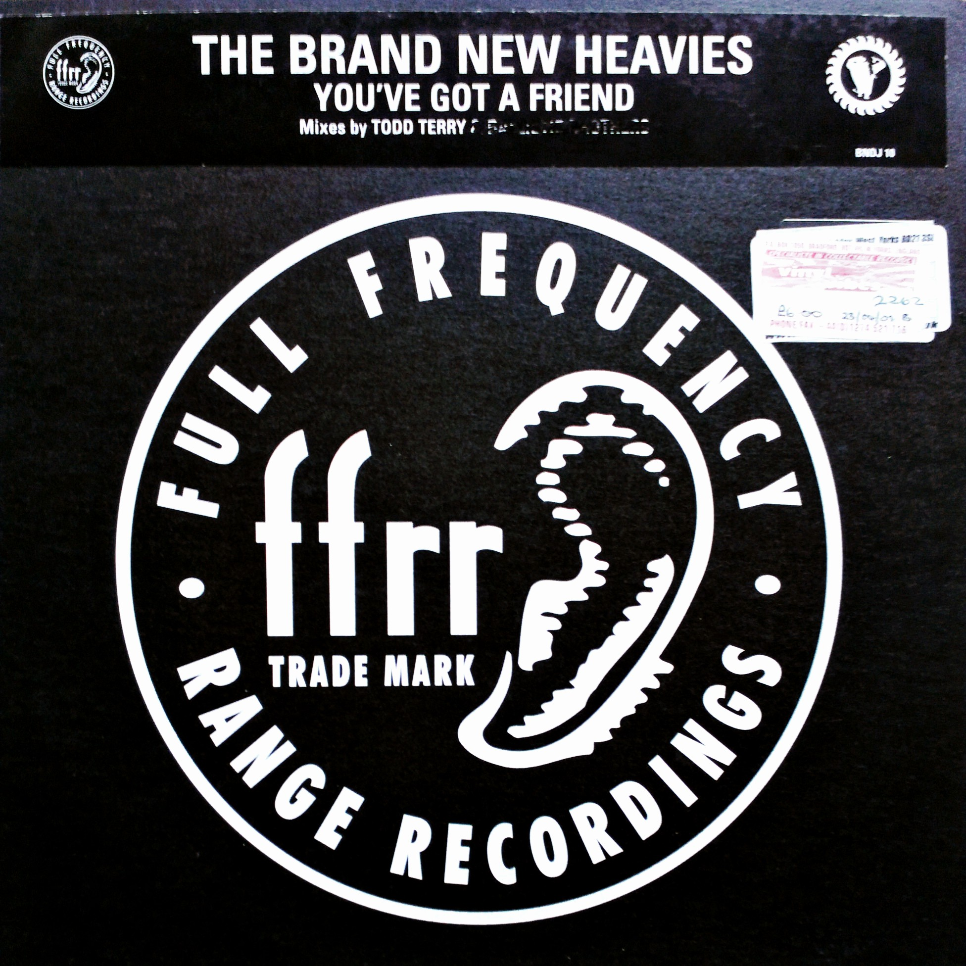"12"" Brand New Heavies - You've Got A Friend"