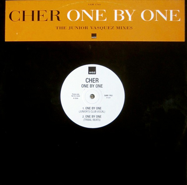 "12"" Cher - One By One (The Junior Vasquez Mixes)"