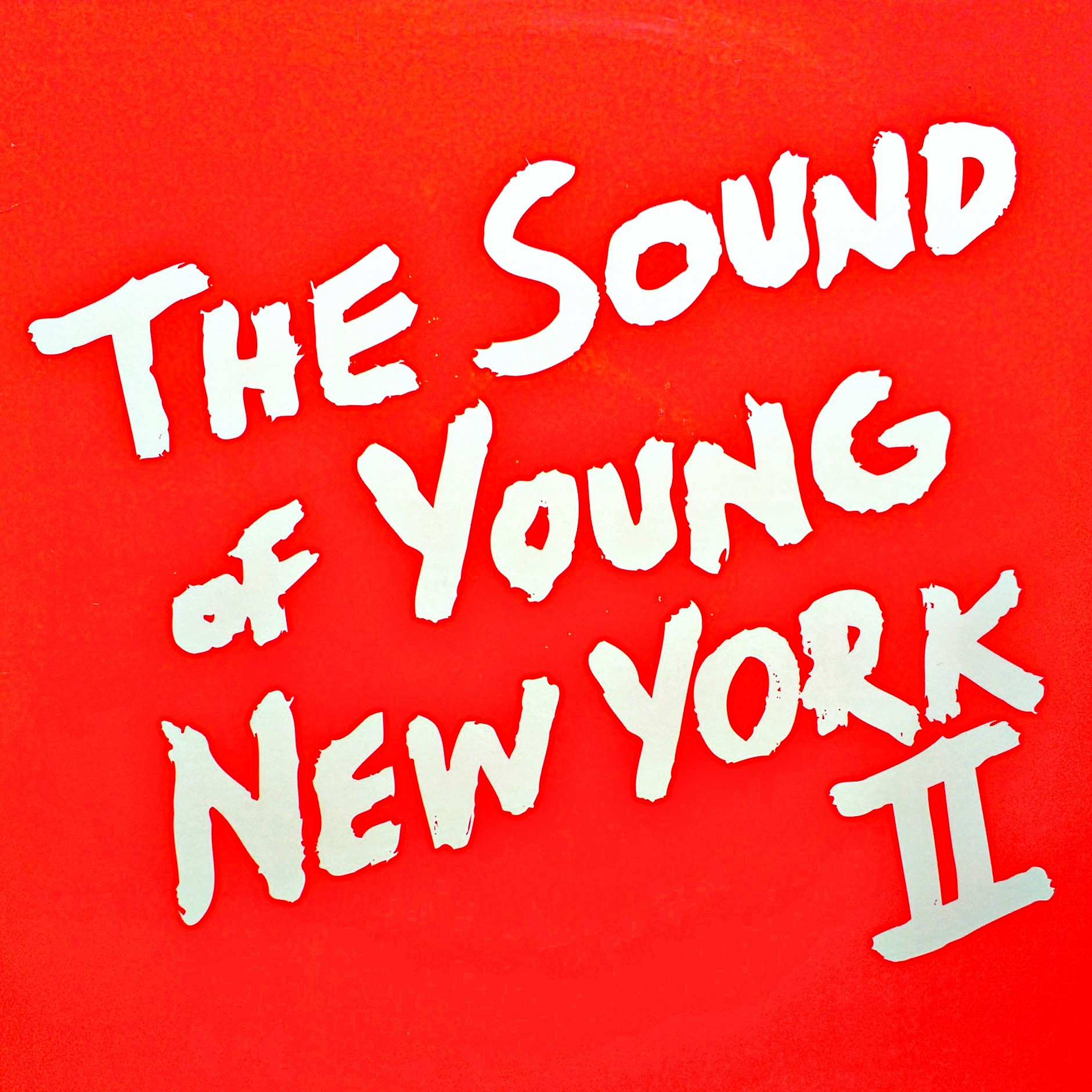 "2x12"" Various ‎– The Sound Of Young New York 2"