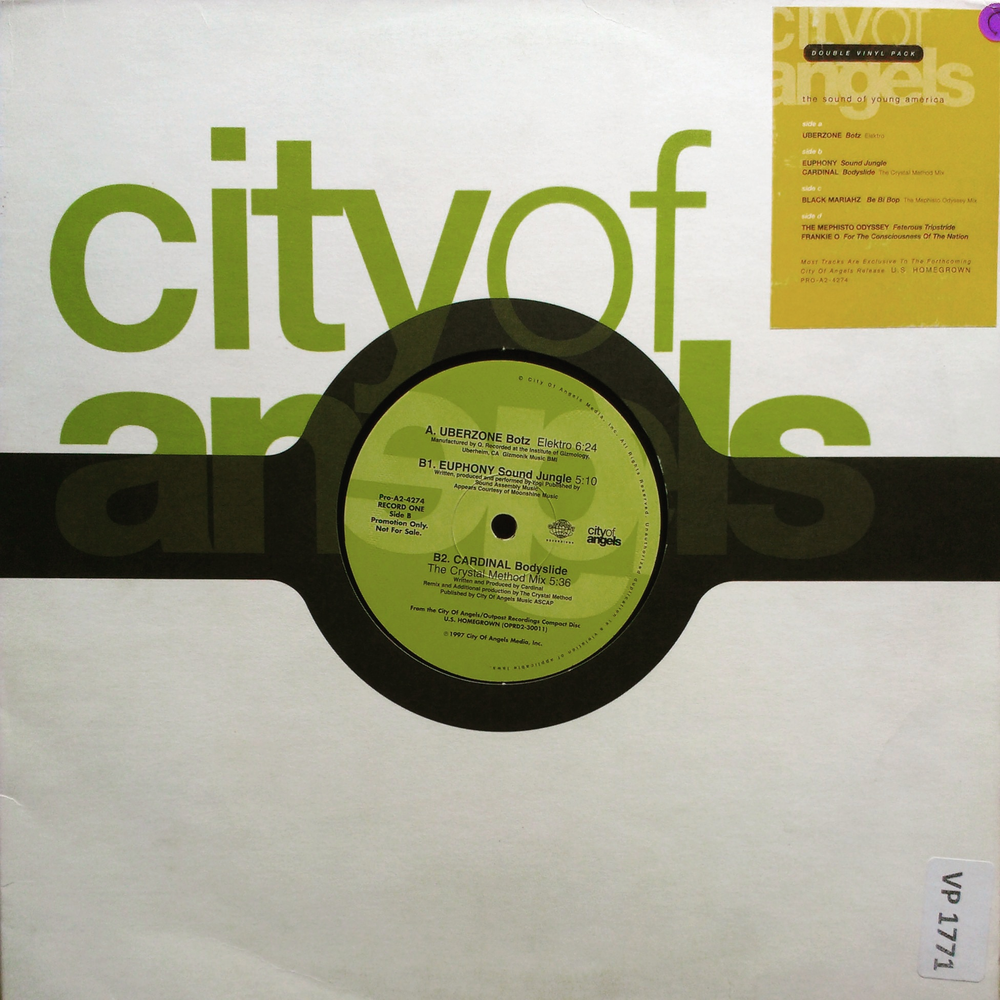 "12"" Various ‎– The Sound Of Young America"