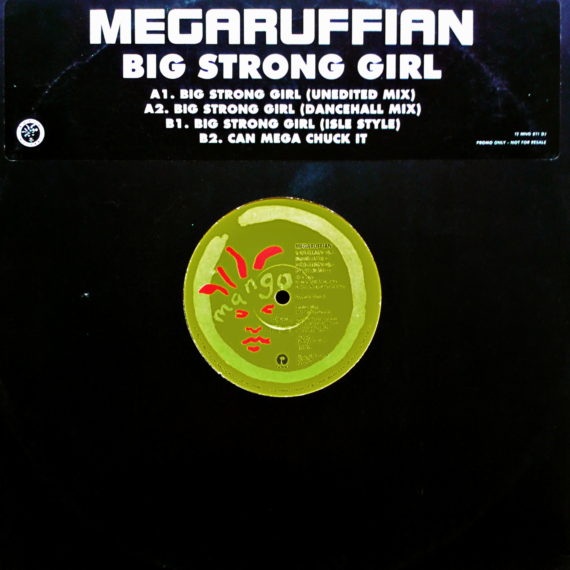 "12"" Megaruffian ‎– Big Strong Girl"