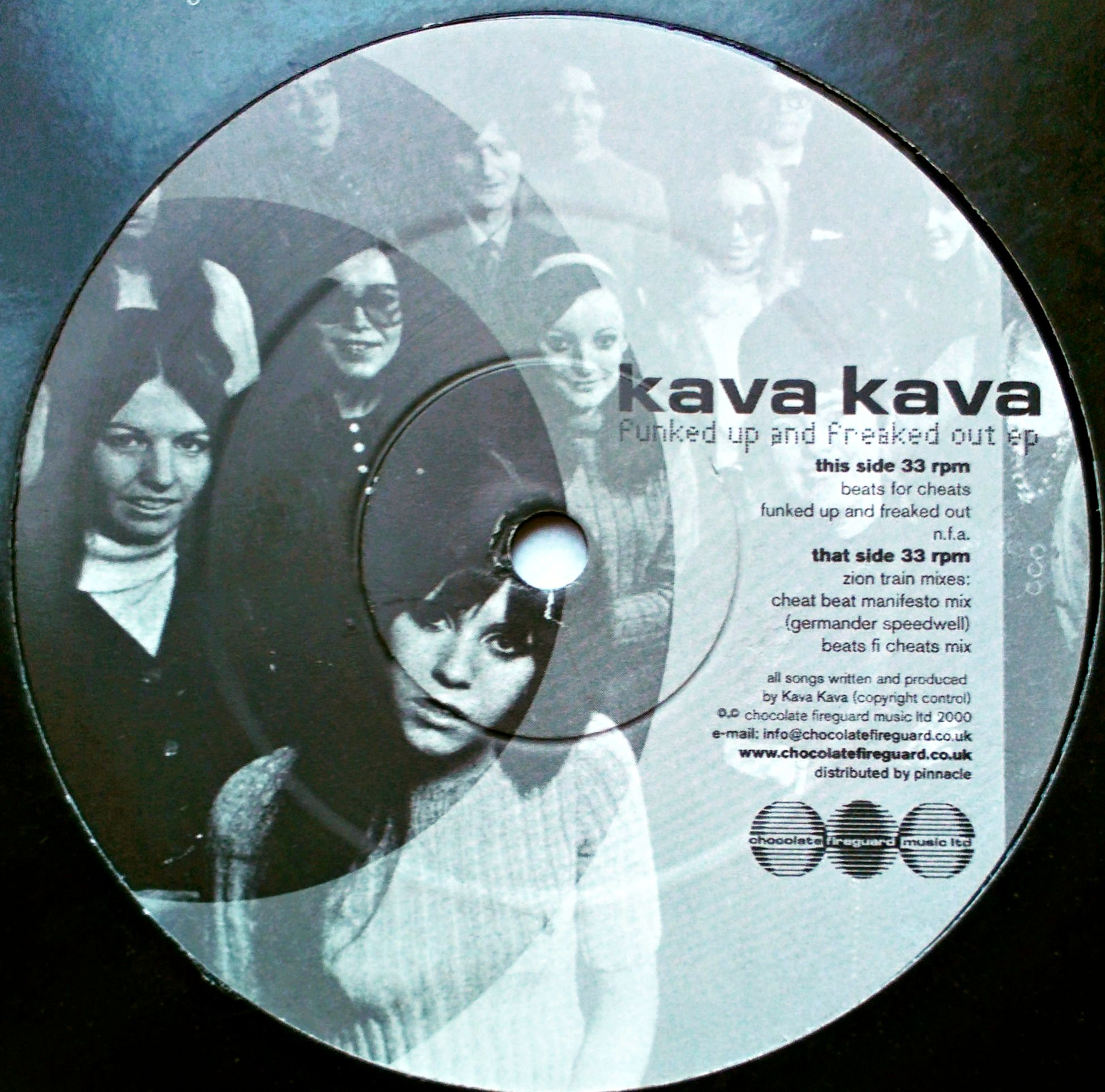 "12"" Kava Kava ‎– Funked Up And Freaked Out"