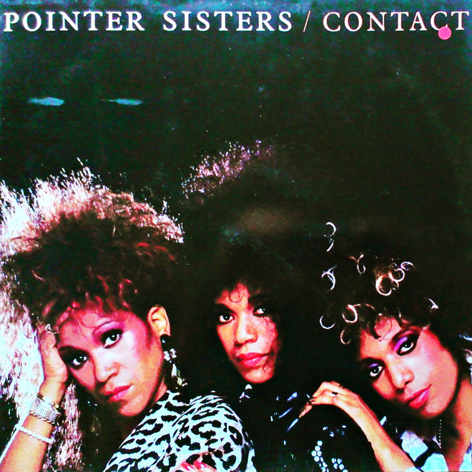 LP Pointer Sisters ‎– Contact