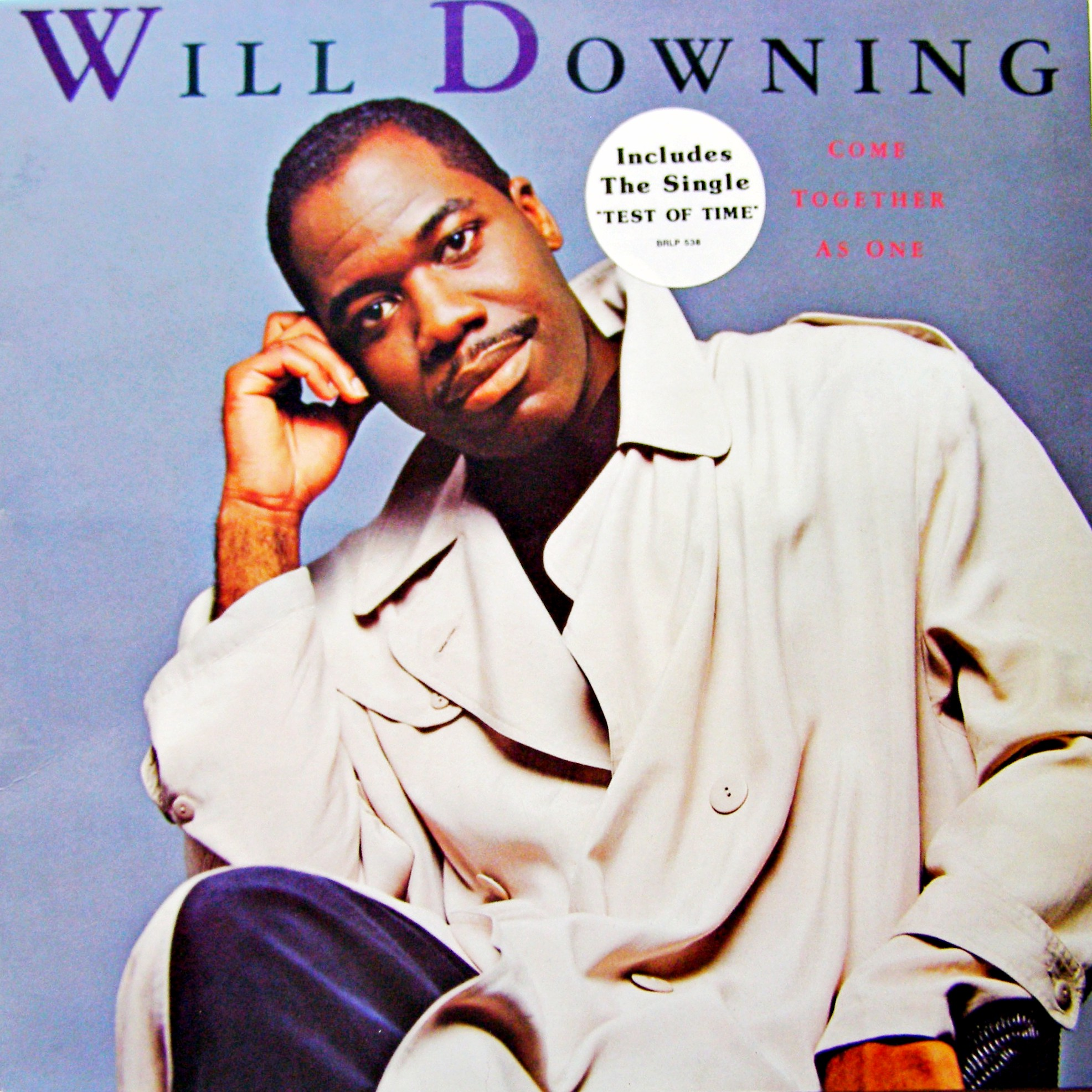 LP Will Downing ‎– Come Together As One