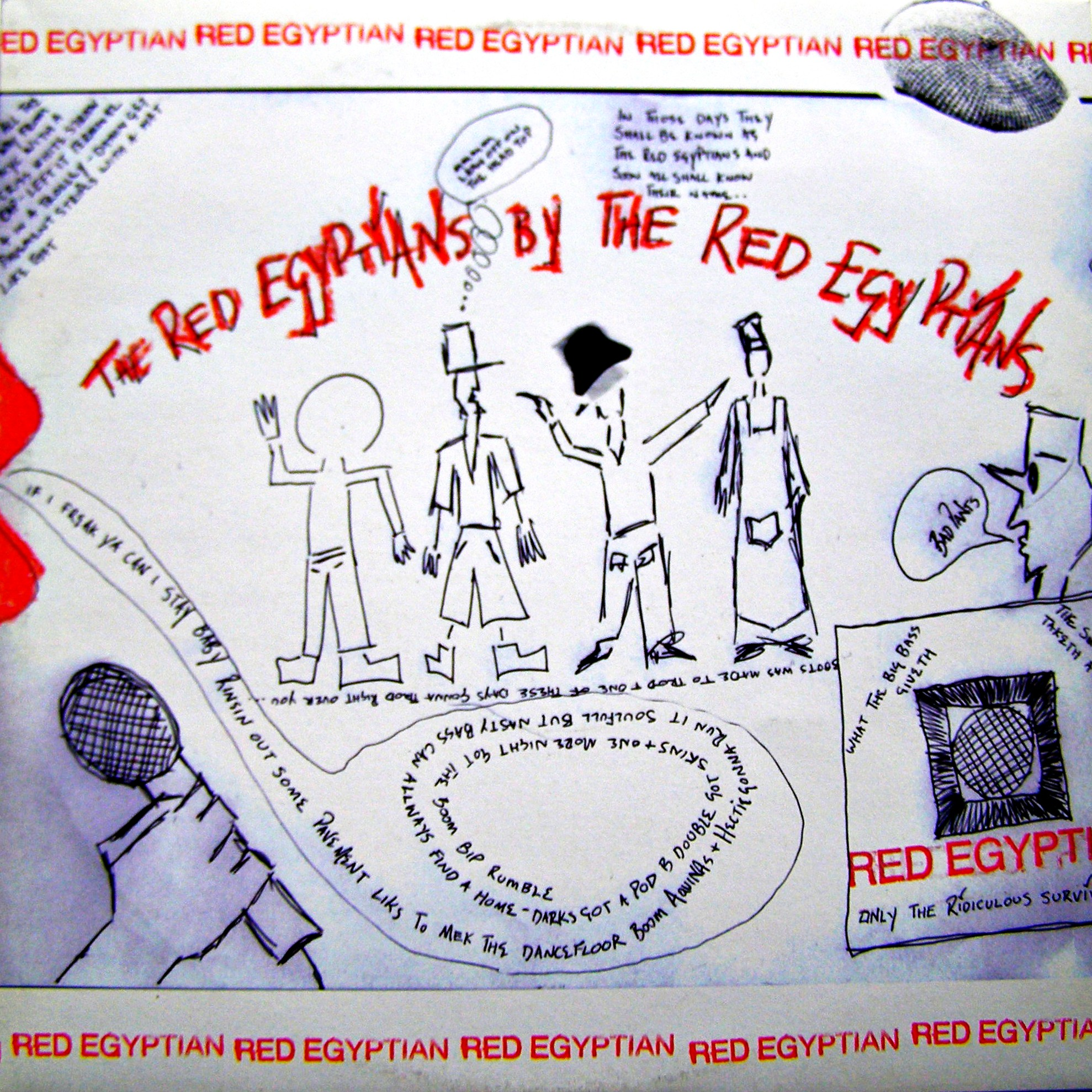 LP Various ‎– The Red Egyptians