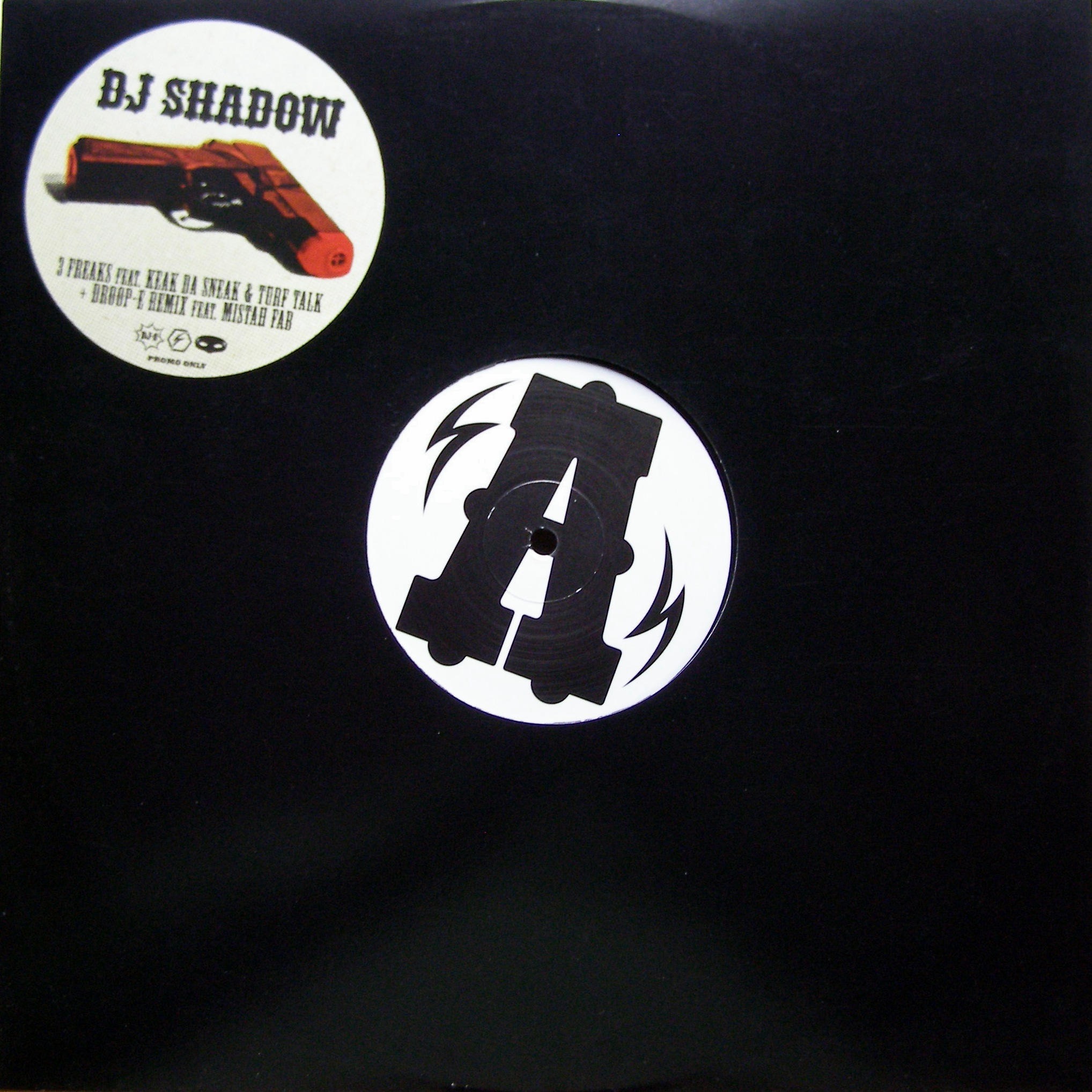 "12"" DJ Shadow ‎– 3 Freaks"