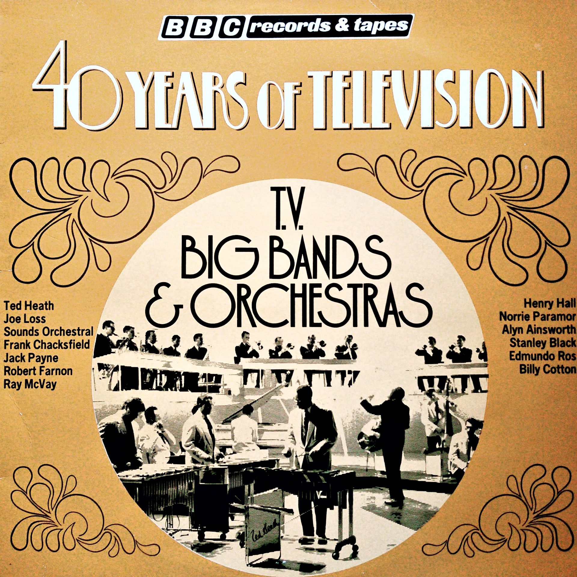 LP Various ‎– 40 Years Of Television - Big Bands & Orchestras
