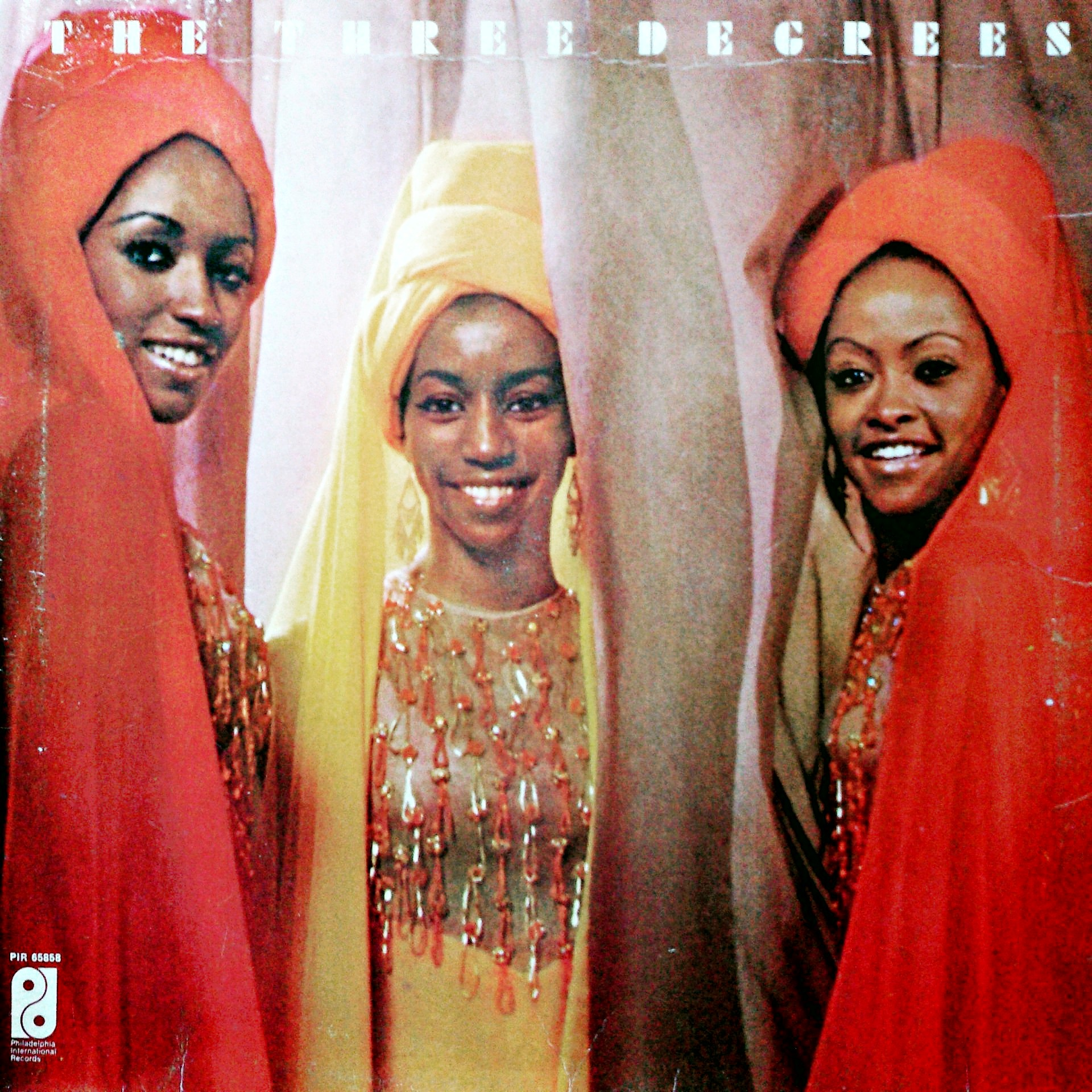 LP The Three Degrees ‎– The Three Degrees