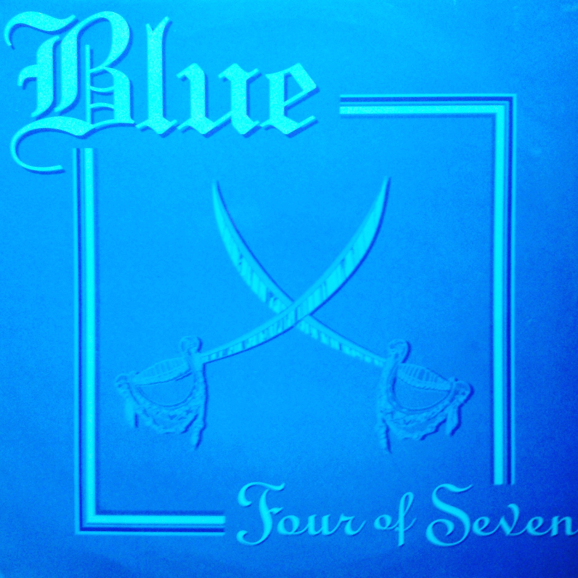 "2x12"" Blue ‎– Four Of Seven"