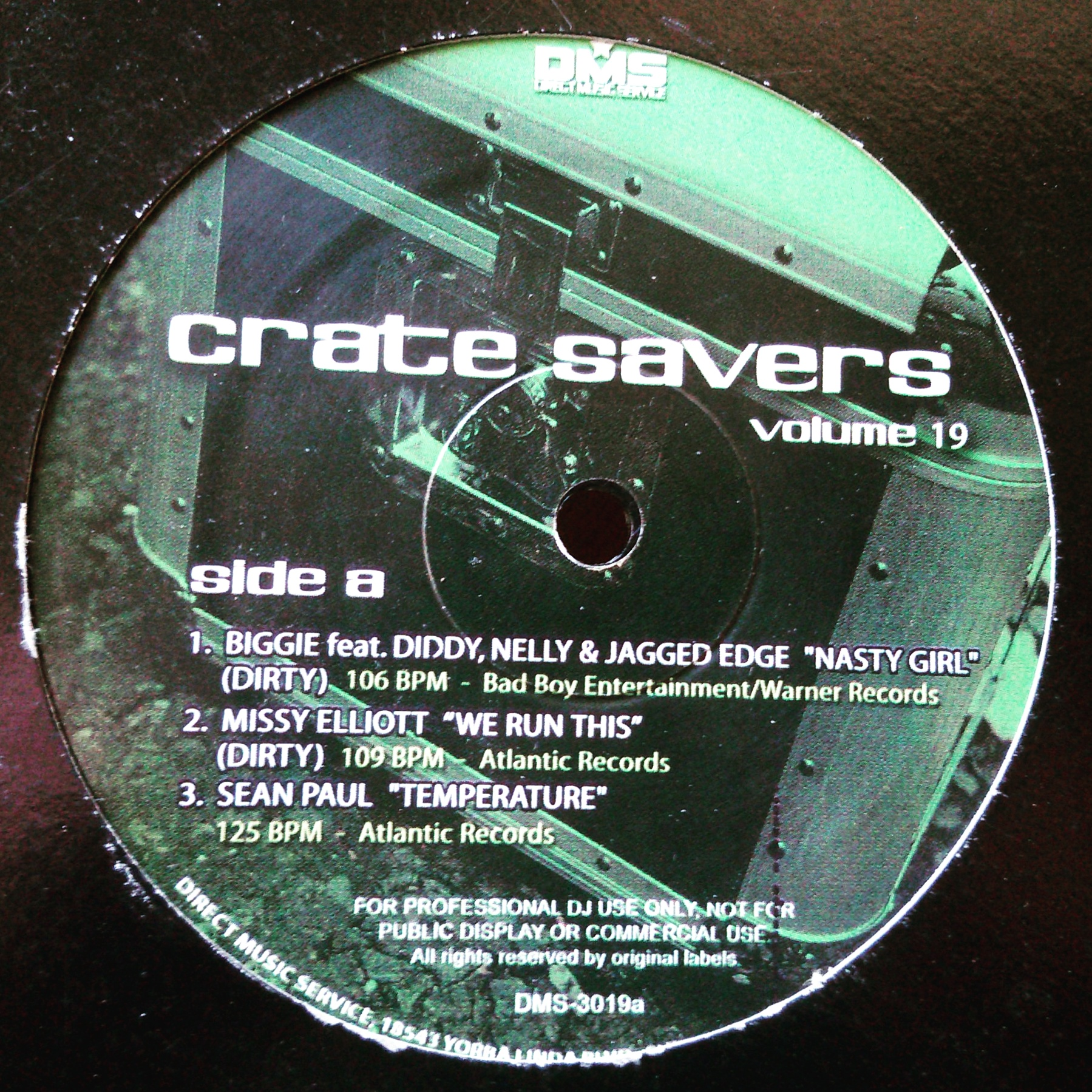 "12"" Various ‎– Crate Savers - Volume 19"
