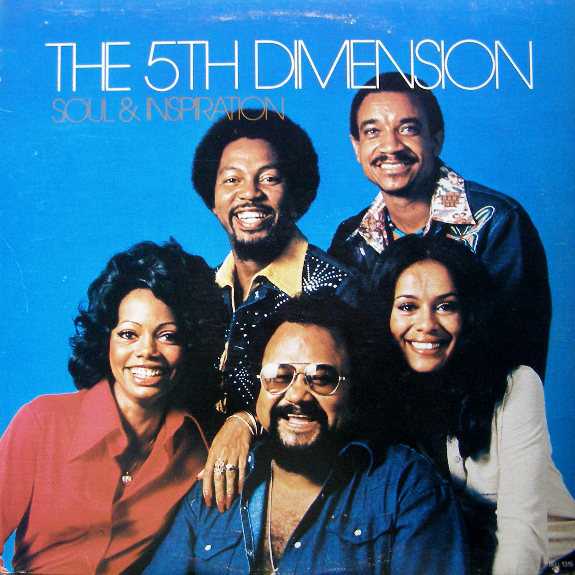 LP The 5th Dimension ‎– Soul & Inspiration