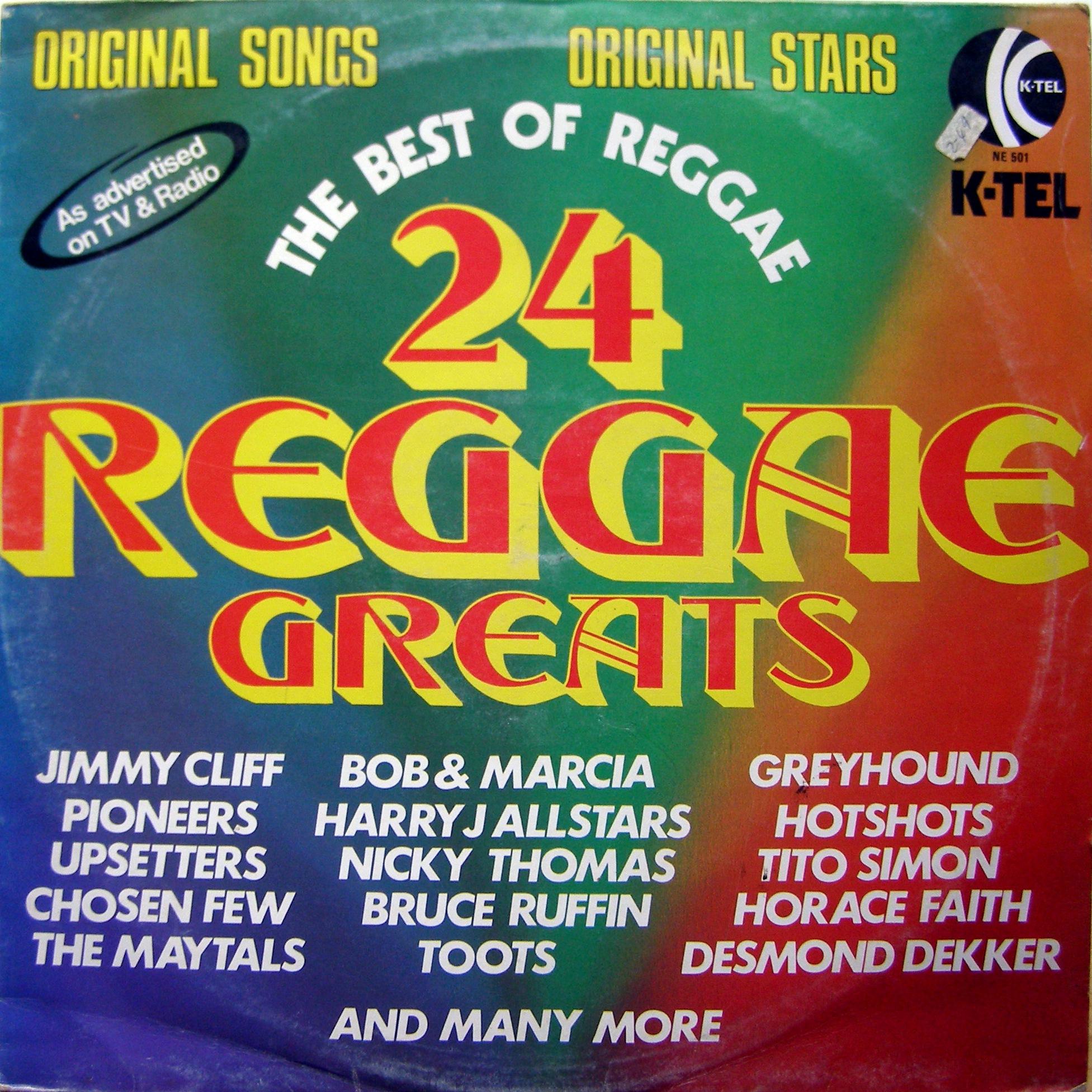 Reggae Dub Lp Various 24 Reggae Greats Vinylbazar