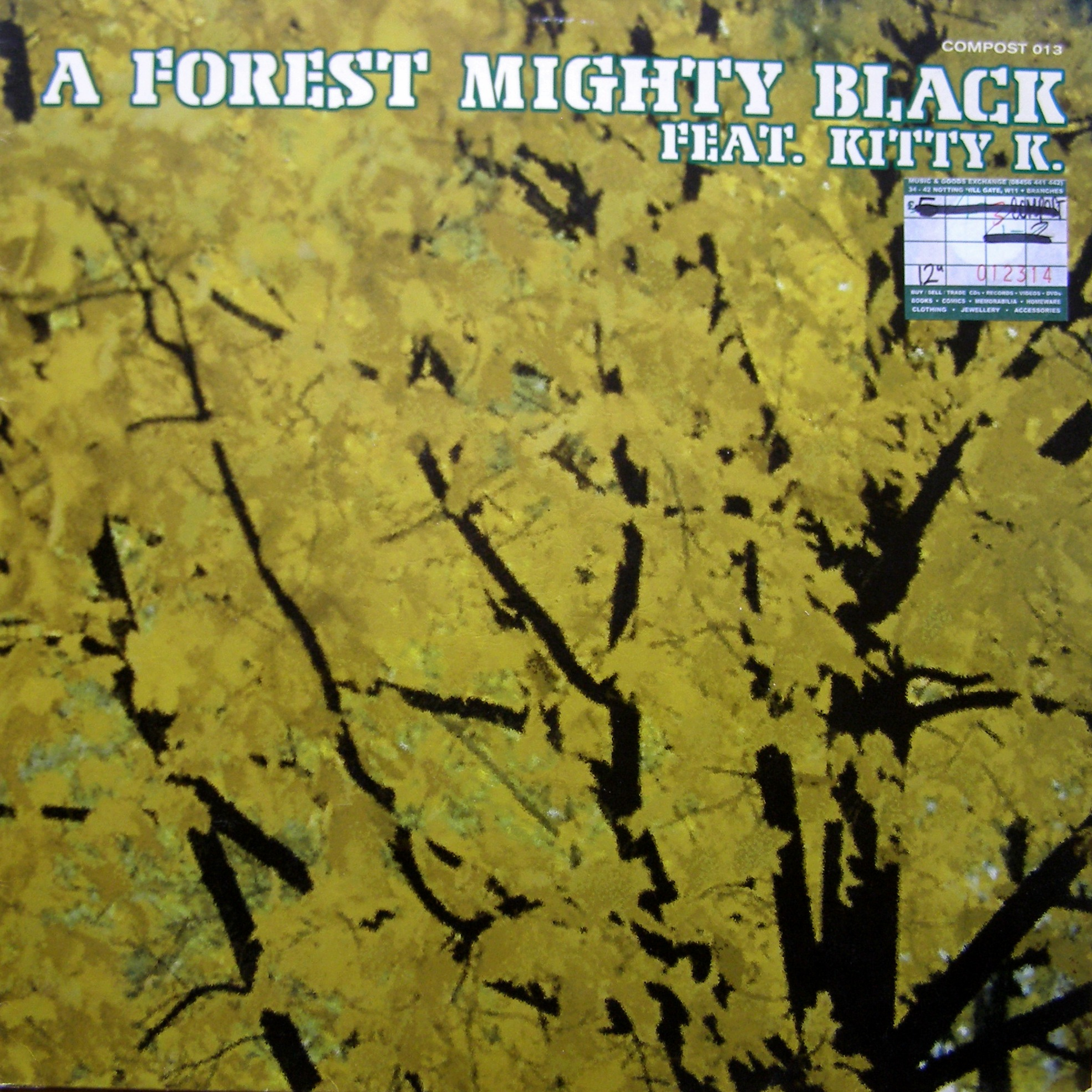 "12"" A Forest Mighty Black feat. Kitty K. ‎– High Hopes / Tides"
