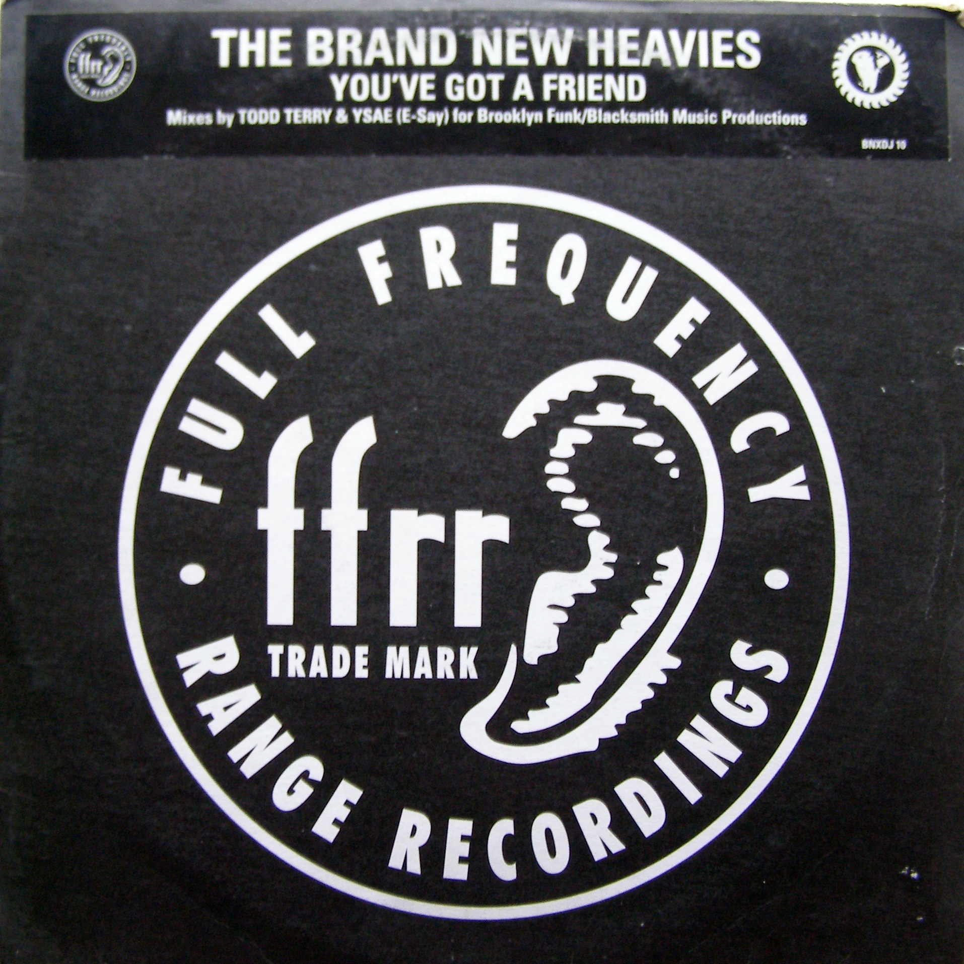 2x12 The Brand New Heavies ‎– You've Got A Friend