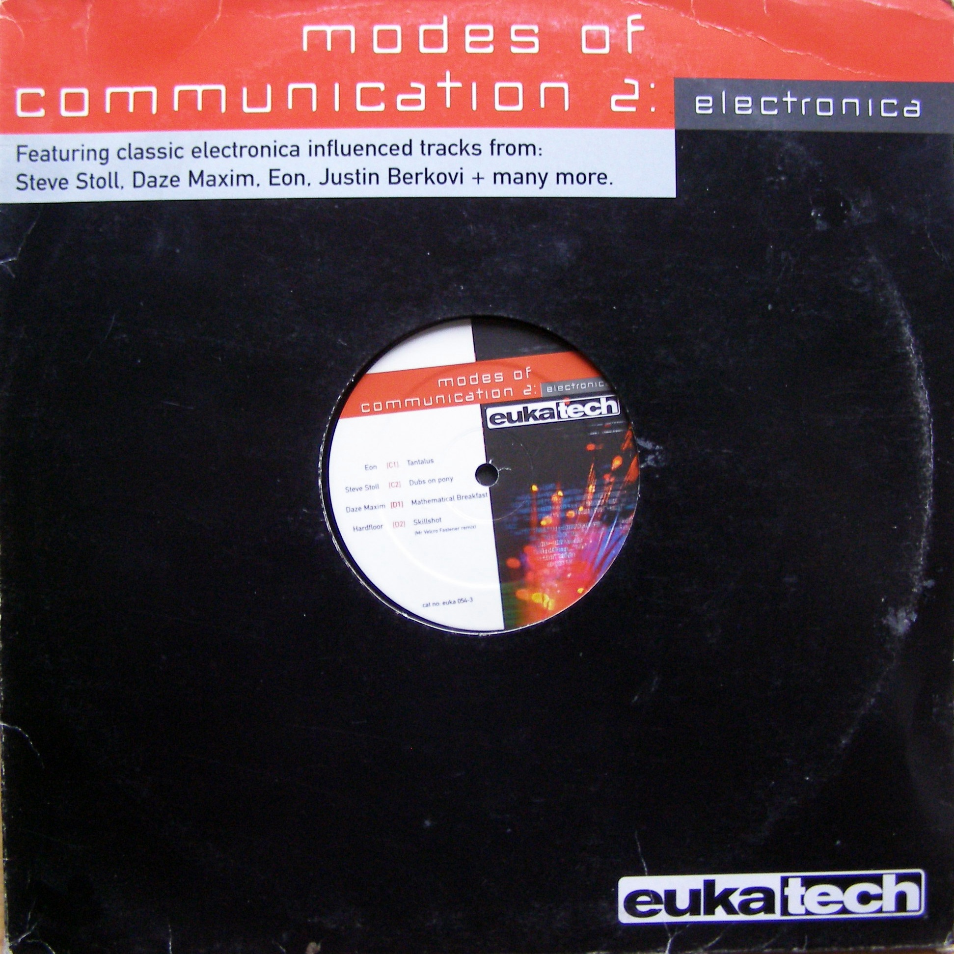 "2x12"" Various ‎– Modes Of Communication 2 - Electronica"