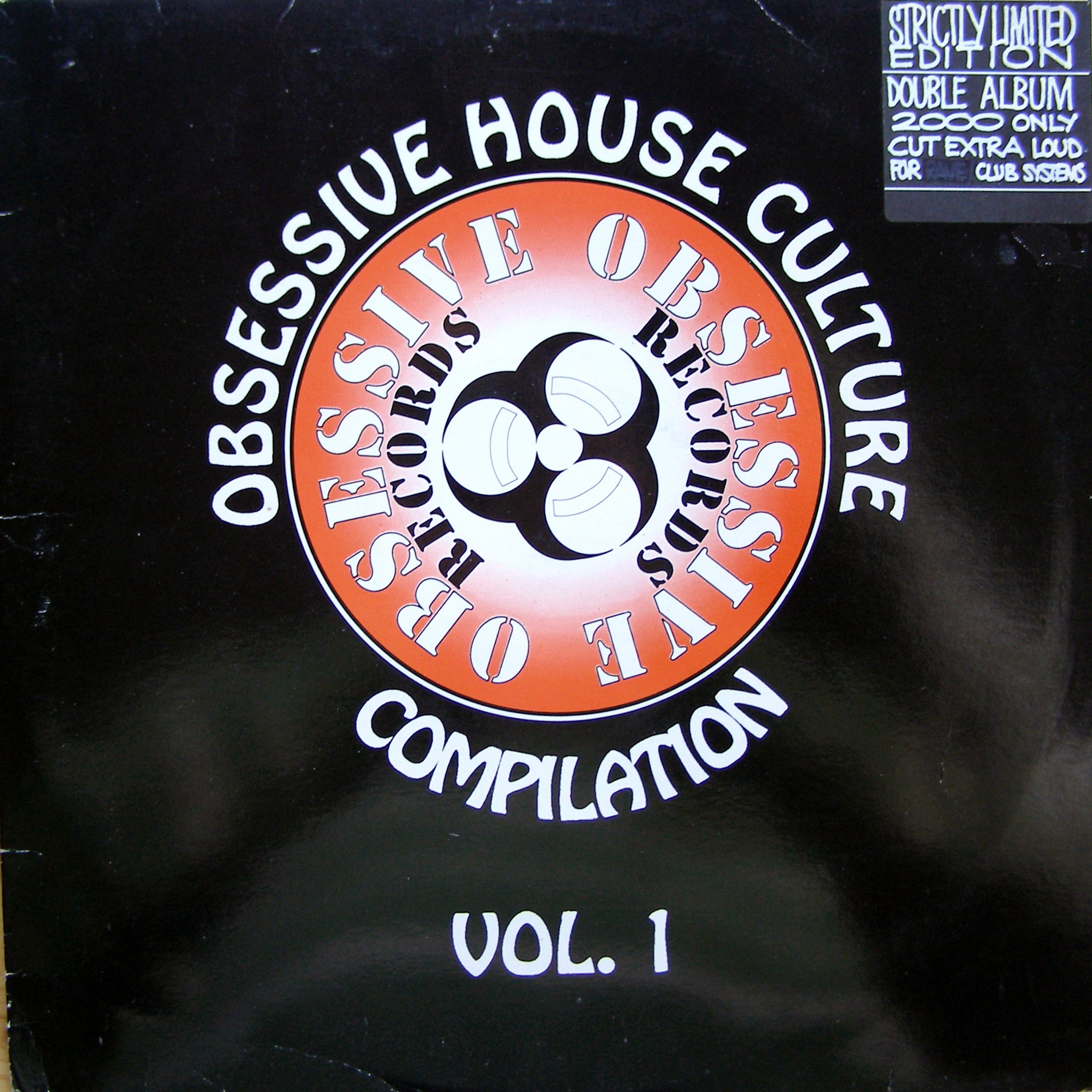 "2x12"" Obsessive House Culture - Compilation Vol. 1"