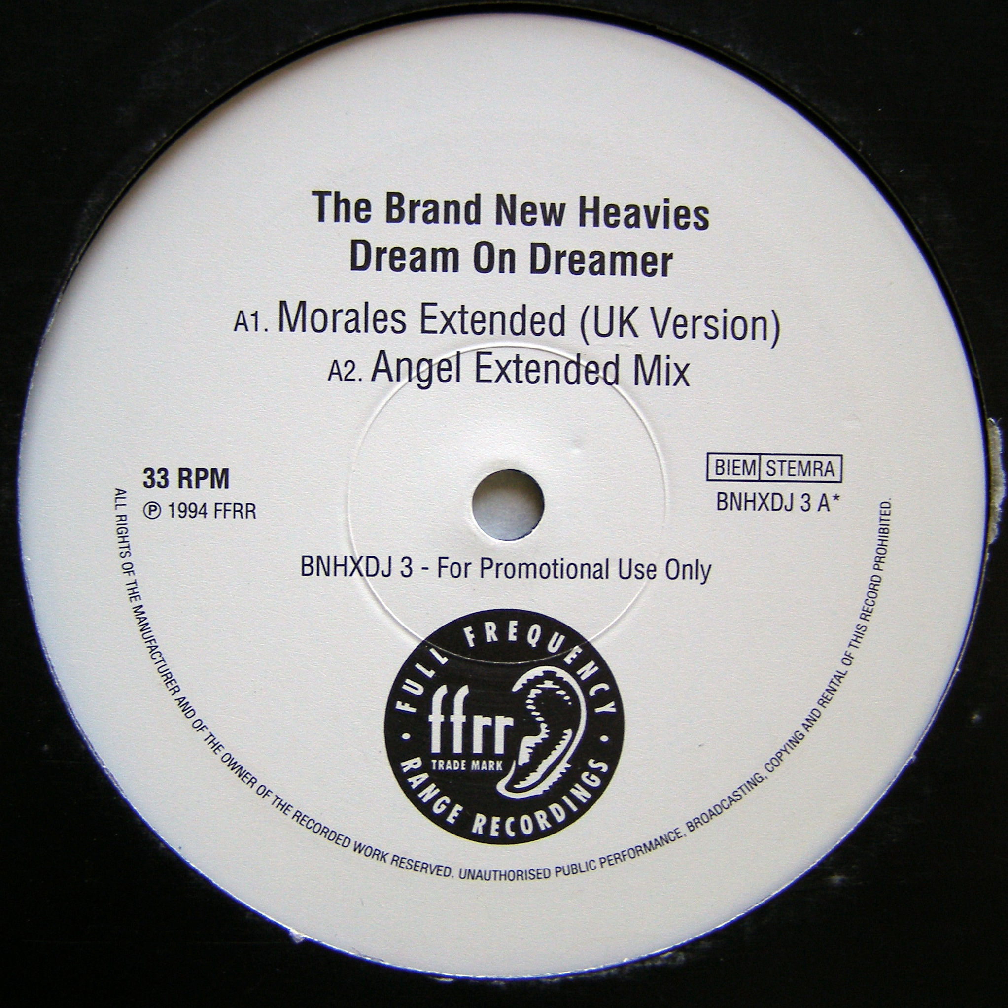 "2x12"" The Brand New Heavies ‎– Dream On Dreamer"