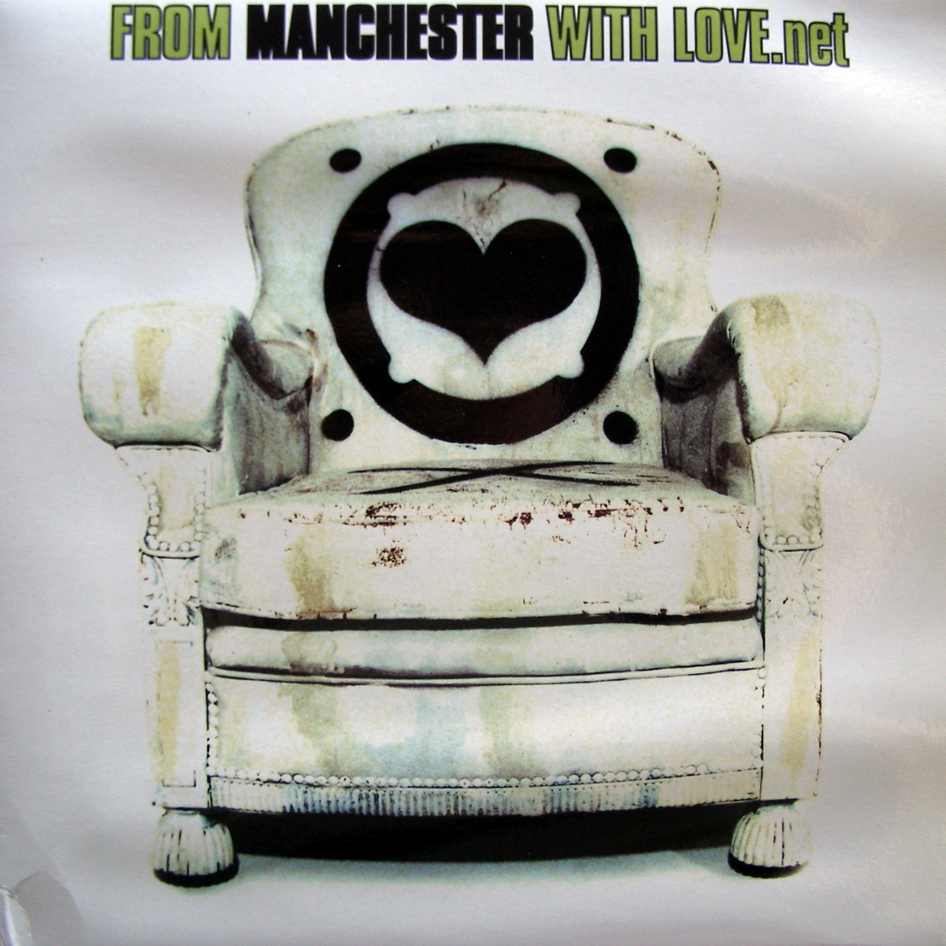 "3x12"" Various ‎– From Manchester With Love.net"