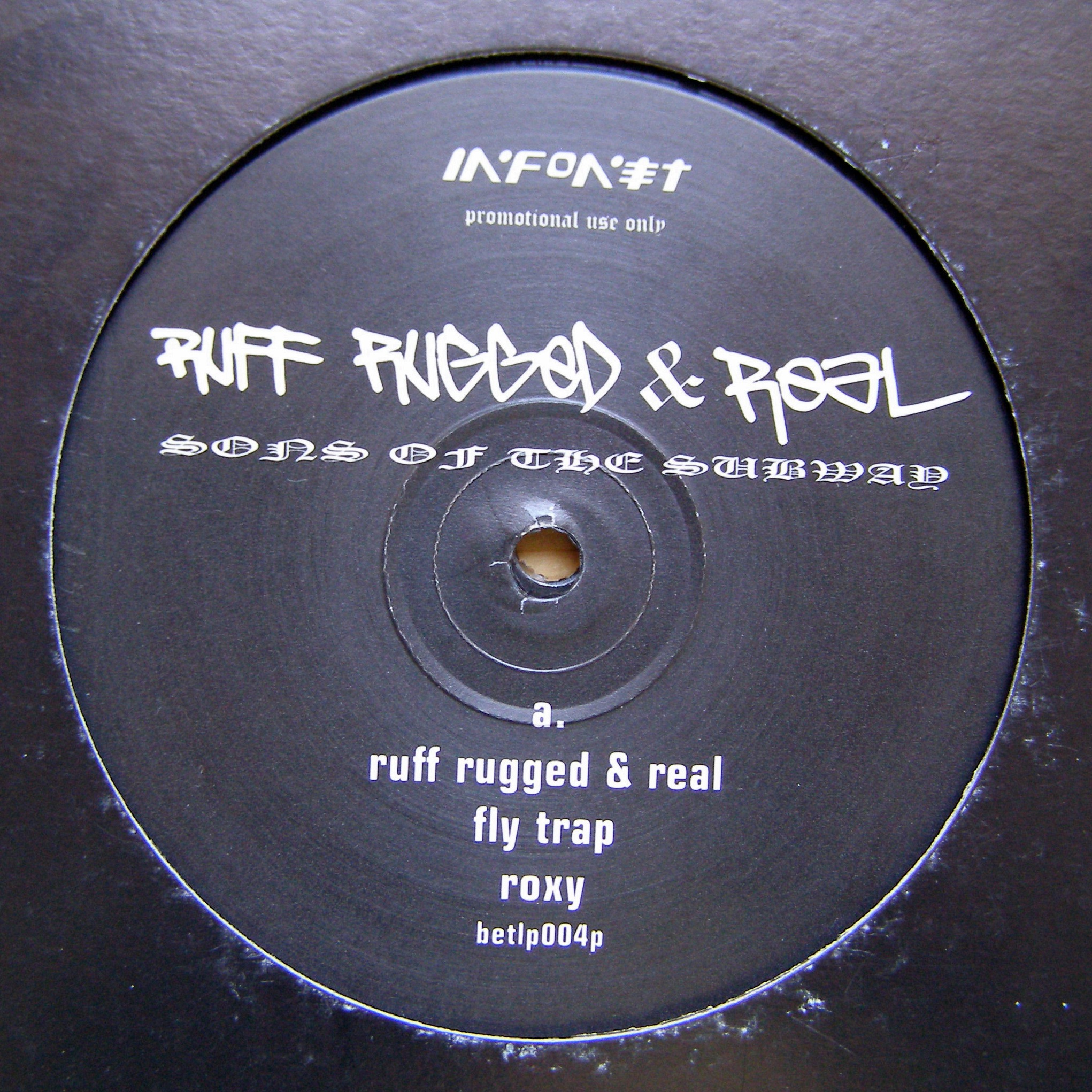 "2x12"" Sons Of The Subway ‎– Ruff Rugged & Real"