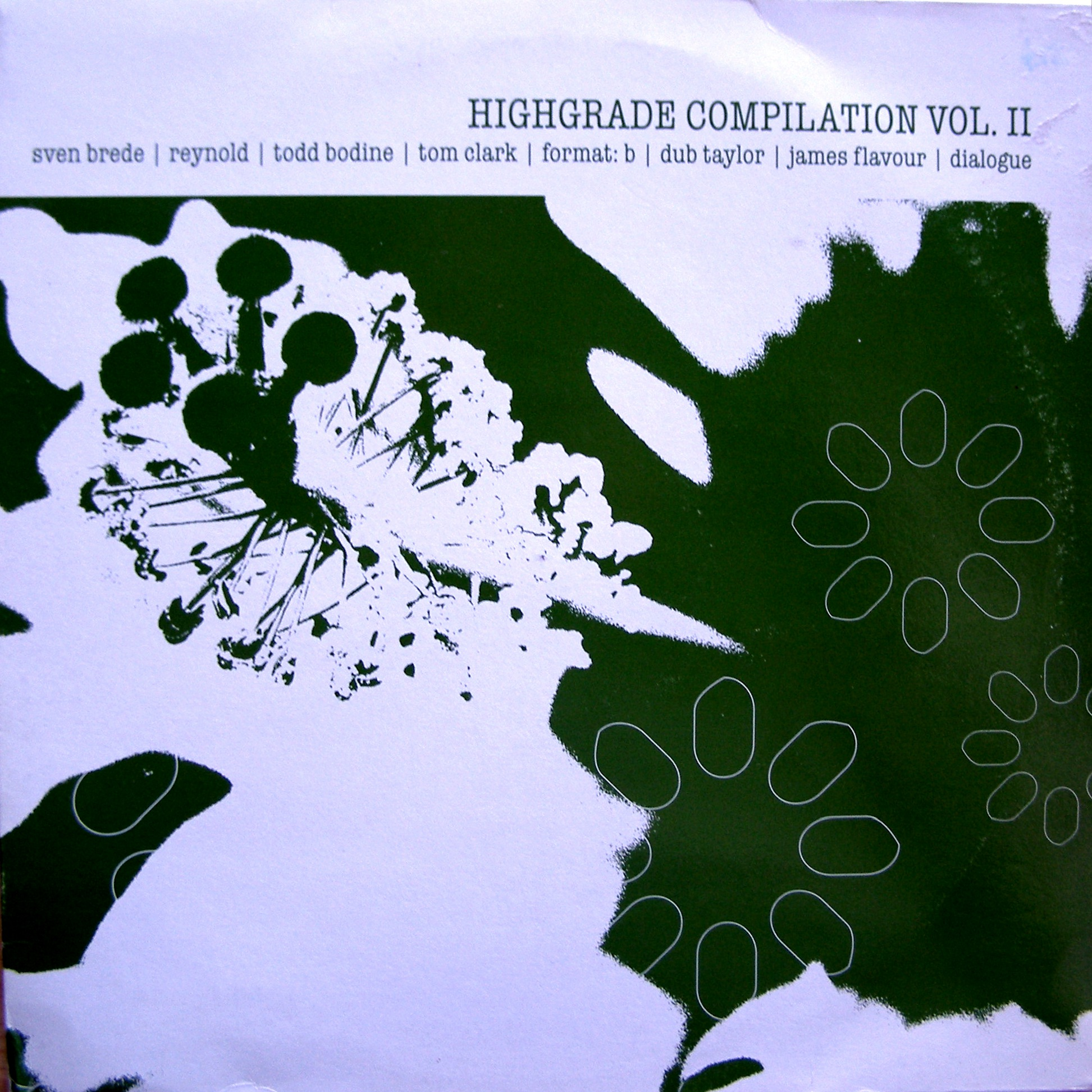"2x12"" Various ‎– Highgrade Compilation Vol. II"
